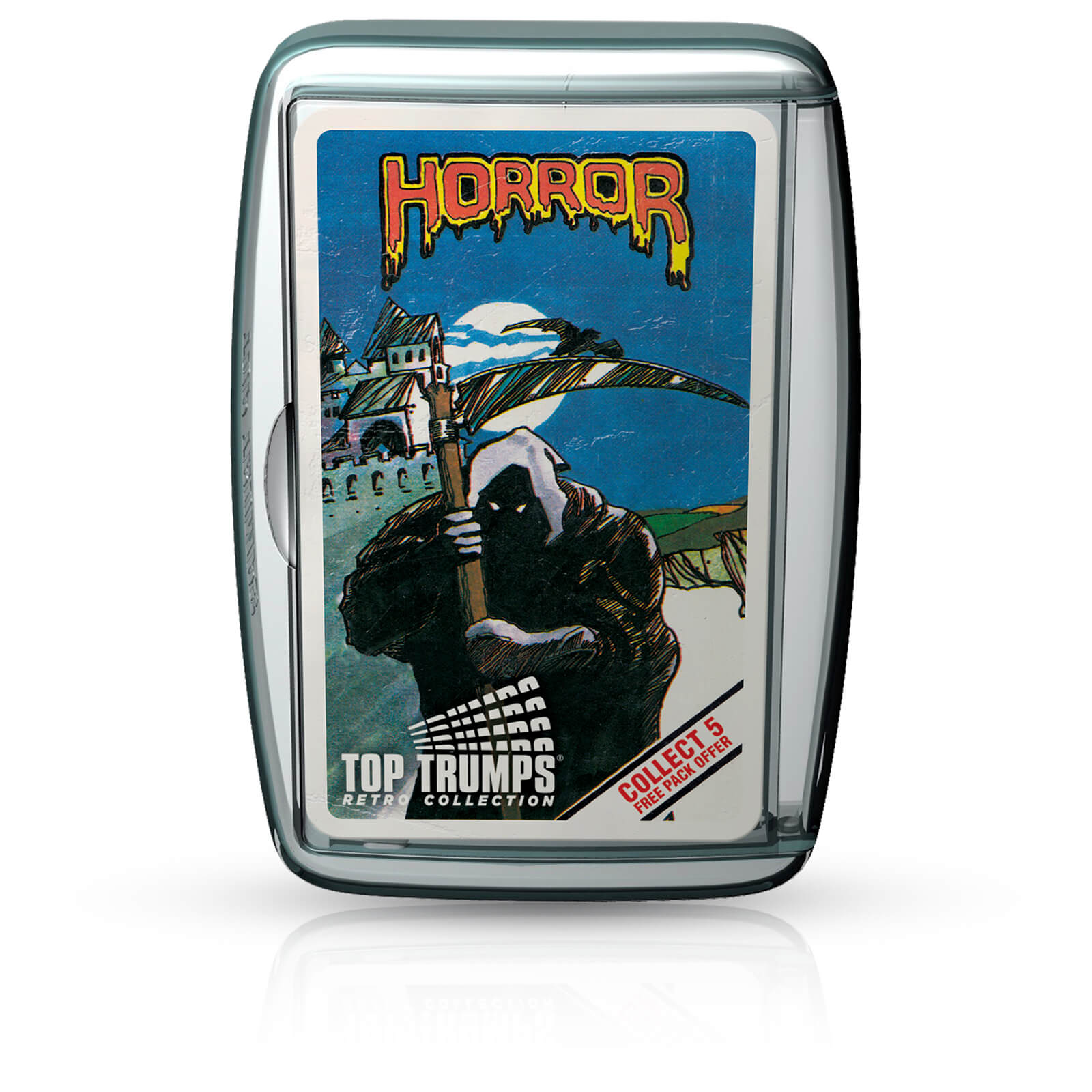 Image of Top Trumps Card Game - Horror 2 Retro Edition
