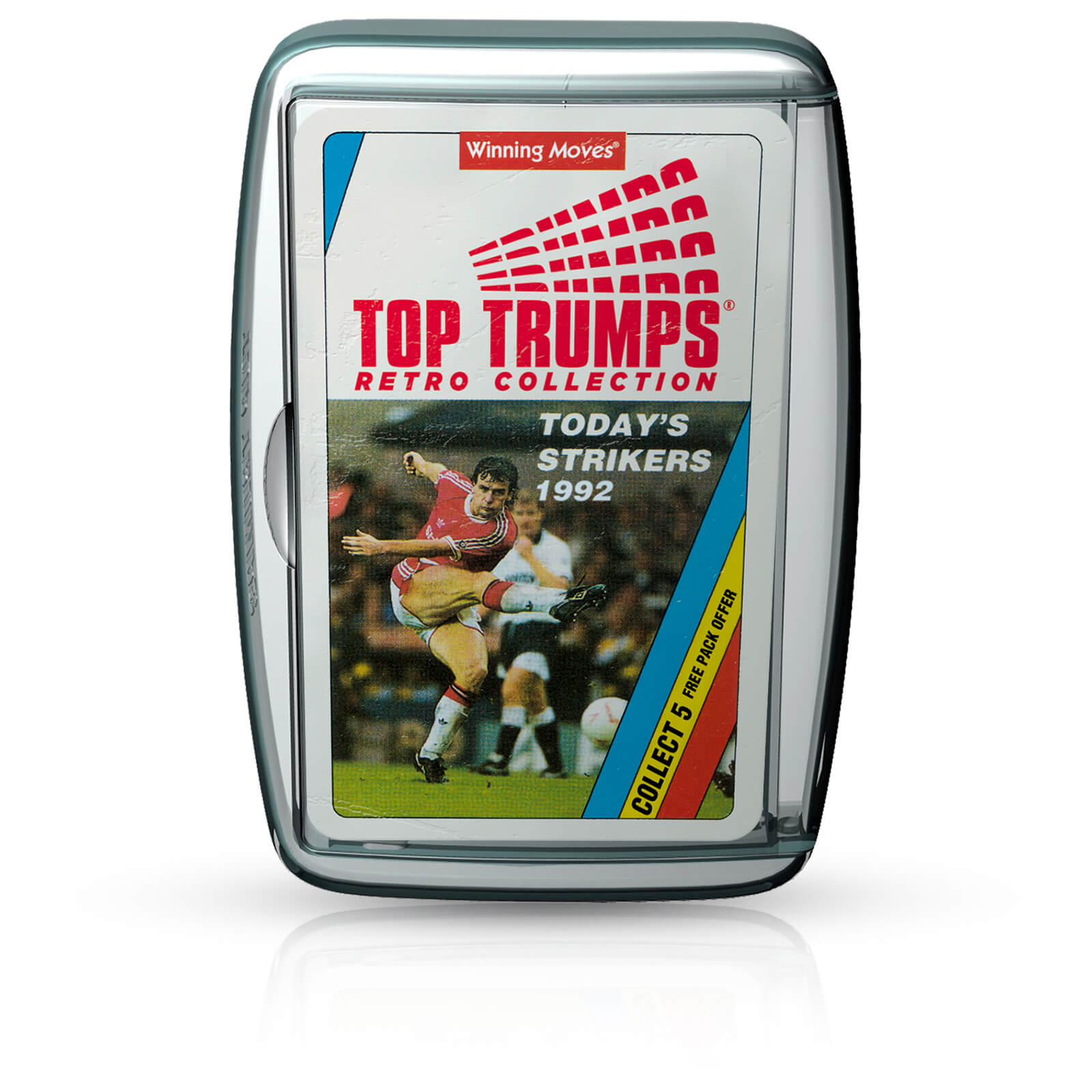 Image of Top Trumps Card Game - Today's Strikers Retro Edition