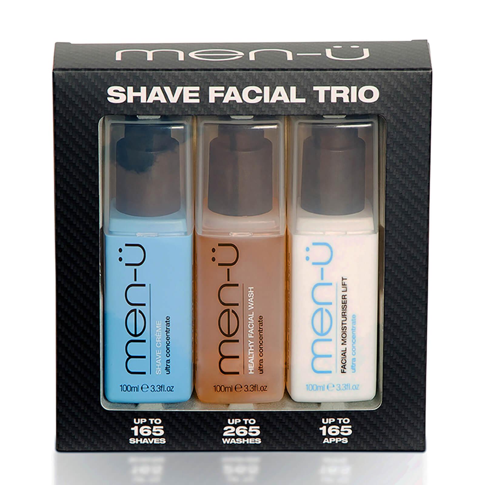 Купить Men-ü Shave Facial Trio Set