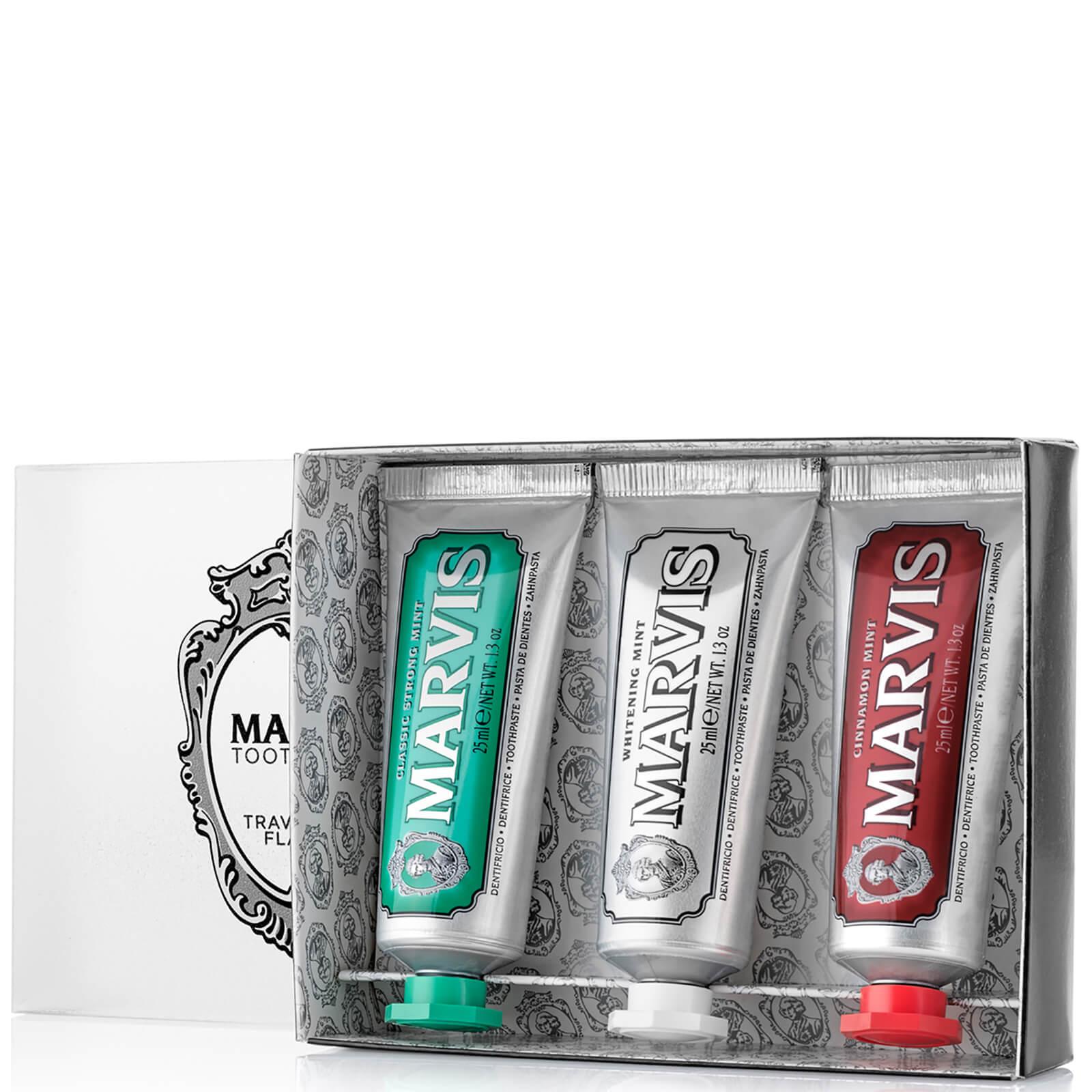 Marvis Travel Flavour Toothpaste Trio 3 x 25ml