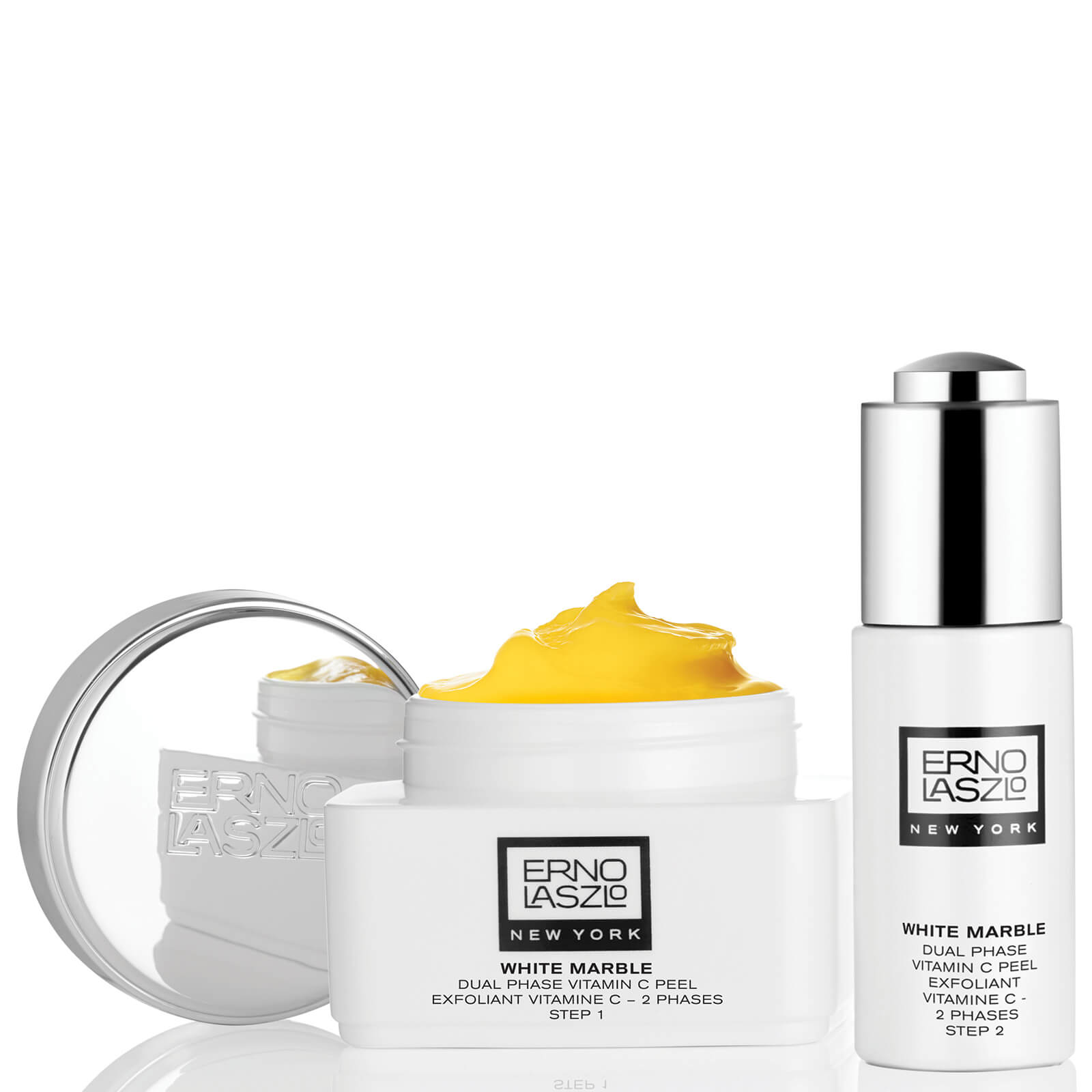 Watch a story about ERNO LASZLO WHITE MARBLE DUAL PHASE VITAMIN C PEEL