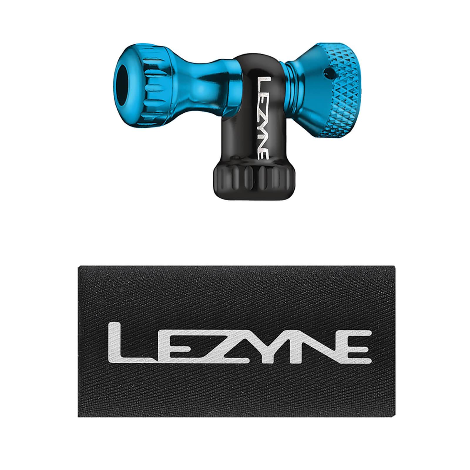 Lezyne Control Drive CO2 Inflator - Blue