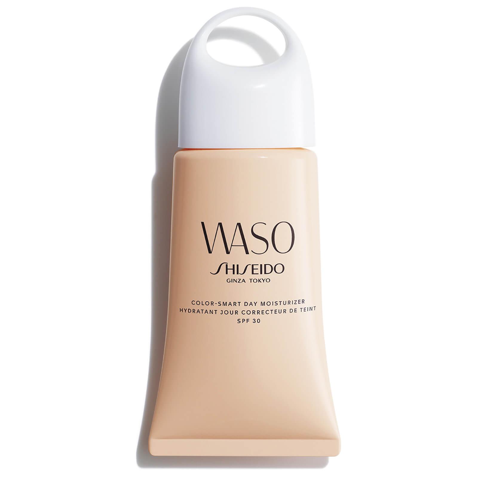 Купить Смарт-крем WASO: увлажнение и ровный тон Shiseido WASO Color Smart Day Moisturizer SPF30 50мл