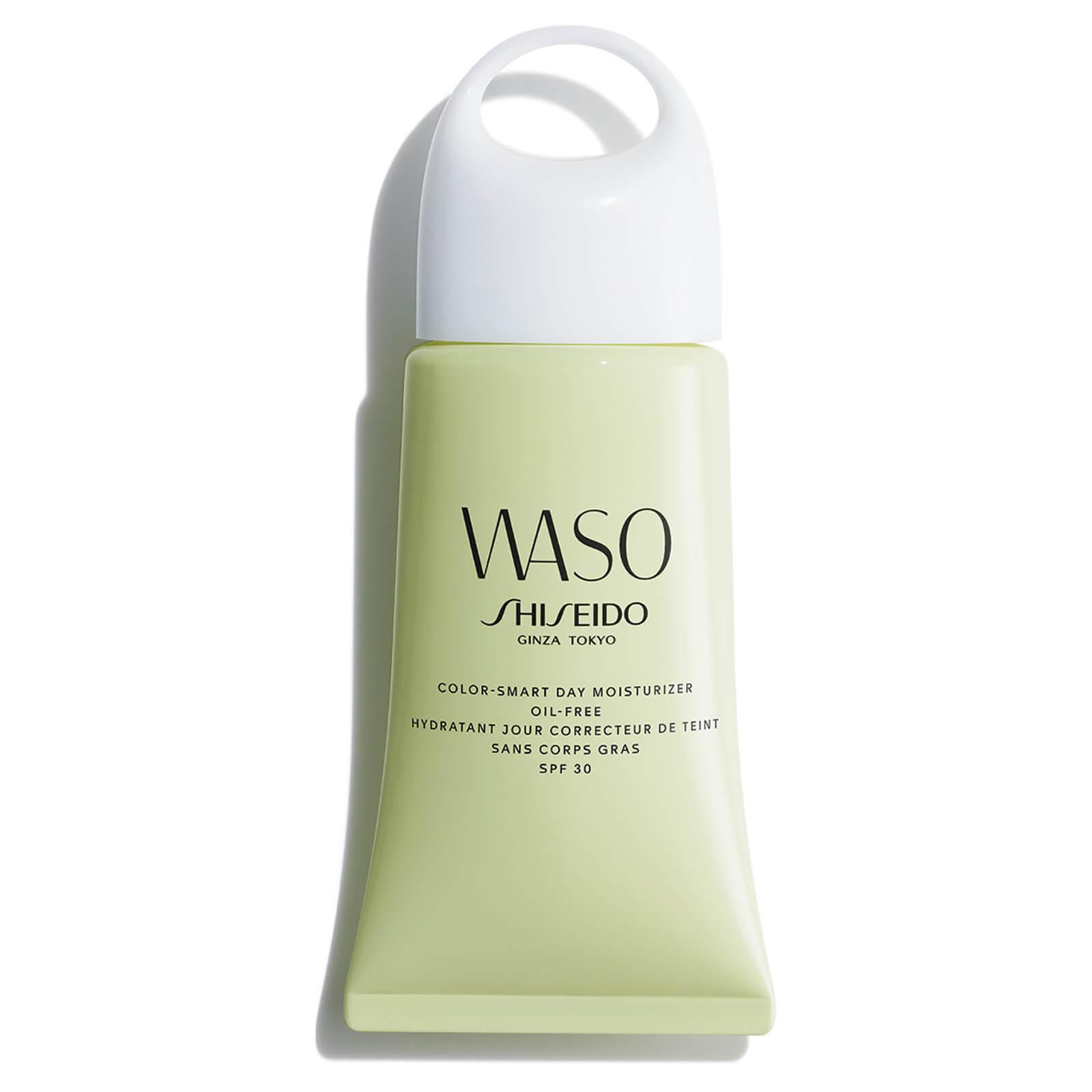 Купить WASO Смарт-крем: увлажнение и ровный тон, без содержания масел Shiseido WASO Color Smart Day Oil Free Moisturizer SPF30 50мл