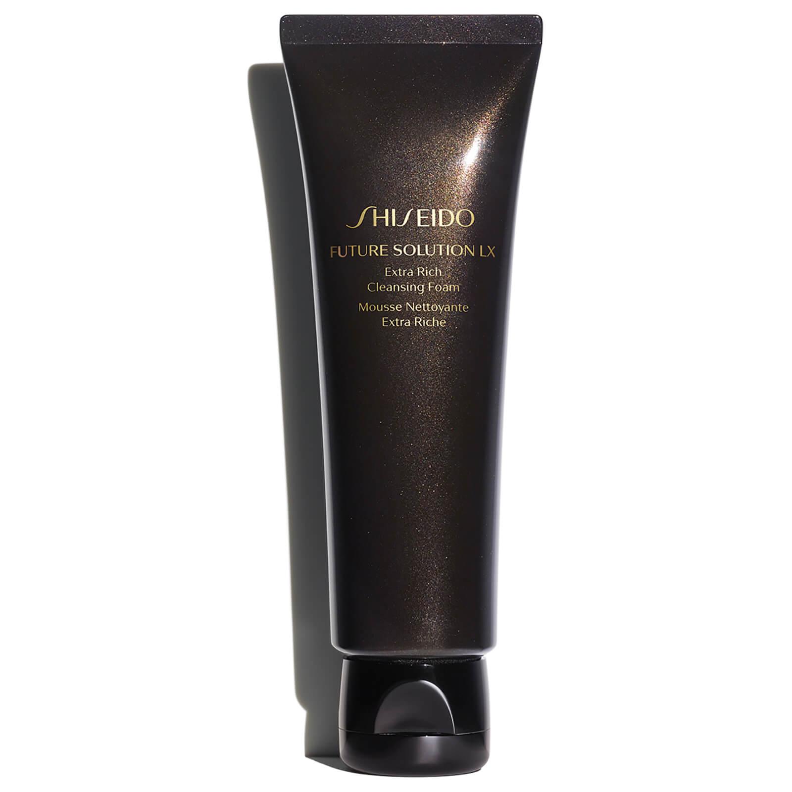 Купить Обогащенная очищающая пенка Shiseido Future Solution LX Extra Rich Cleansing Foam 125мл