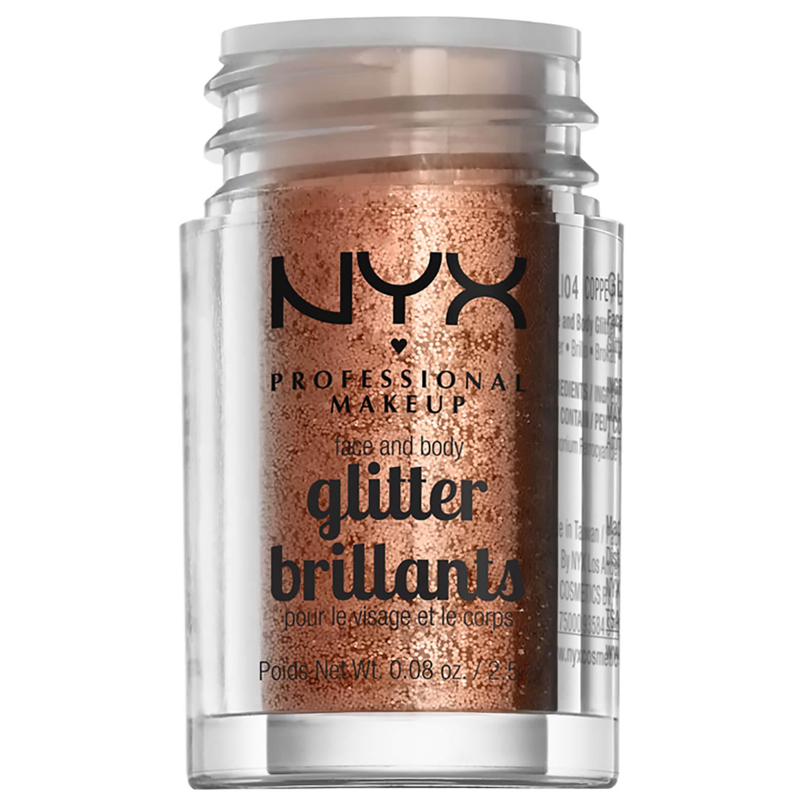 Купить Глиттер для лица и тела NYX Professional Makeup Face & Body Glitter (различные оттенки) - Copper