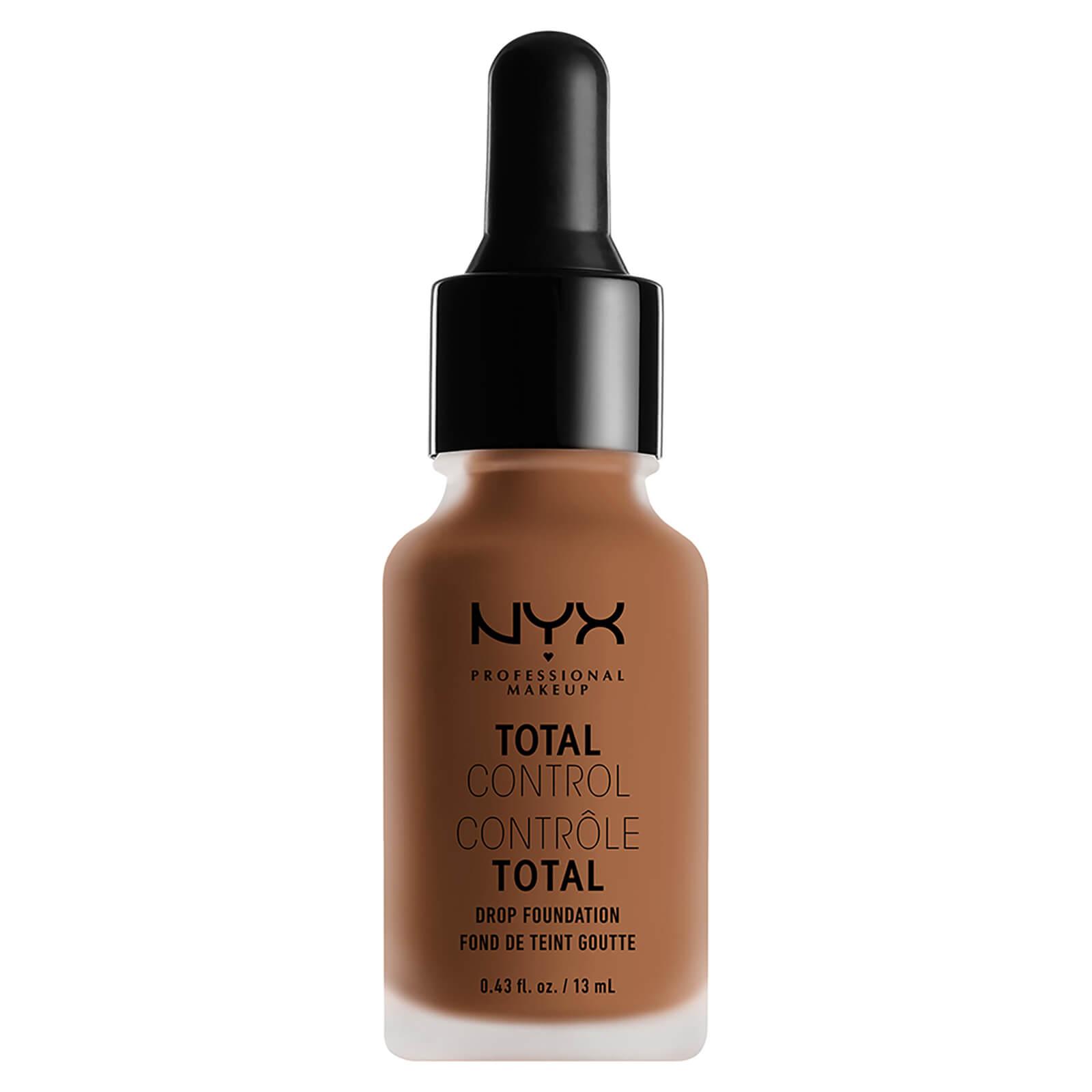 Купить Стойкая тональная основа NYX Professional Makeup Total Control Drop Foundation (различные оттенки) - Mahogany
