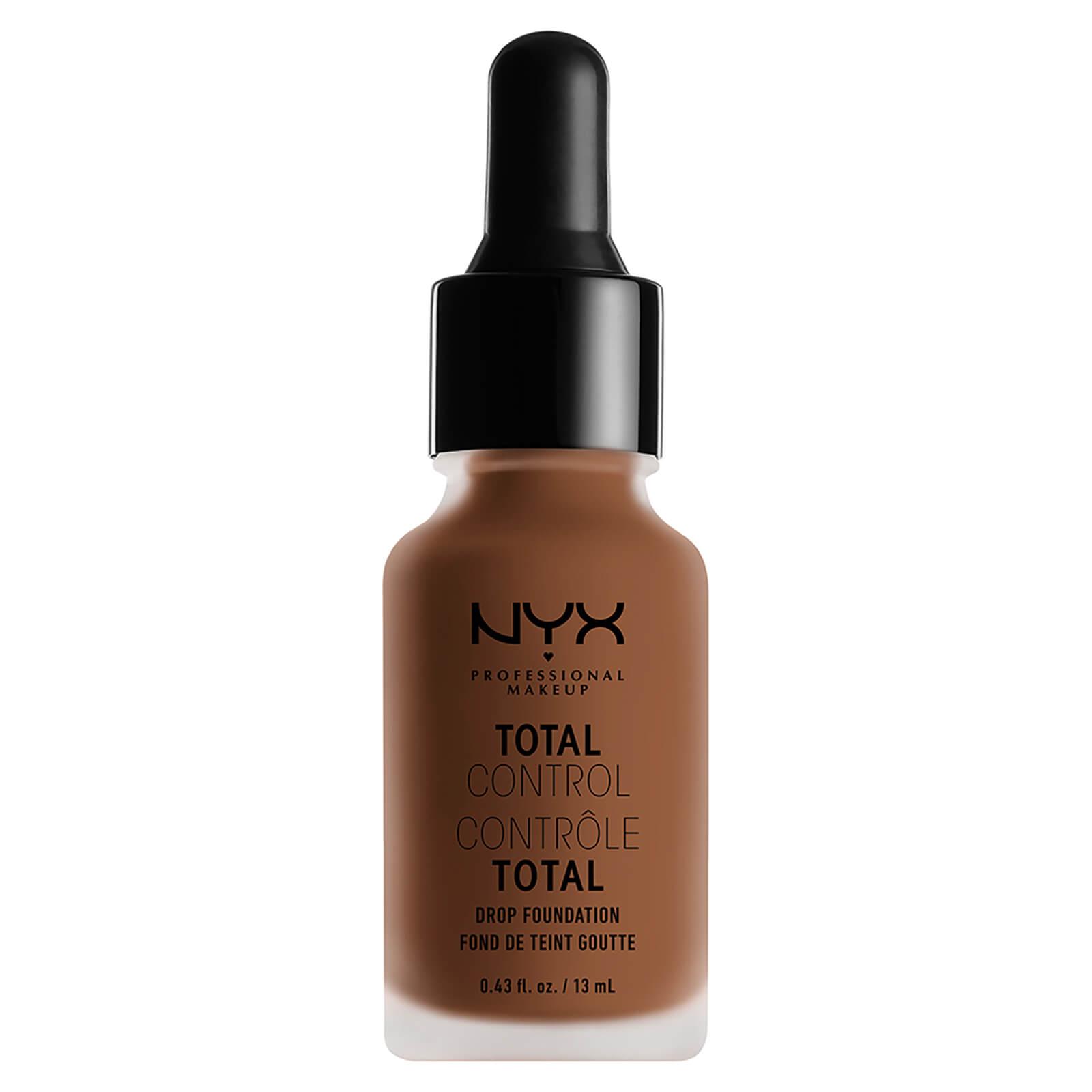 nyx professional makeup total control drop foundation (various shades) - cappuccino