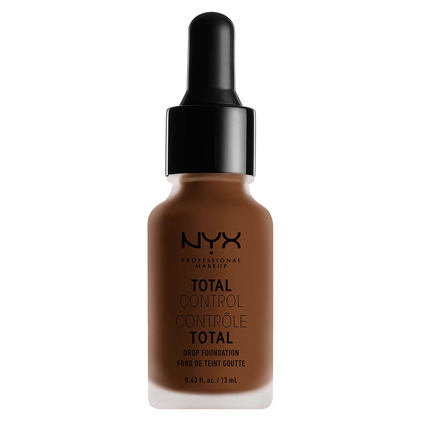 nyx professional makeup total control drop foundation (various shades) - mocha