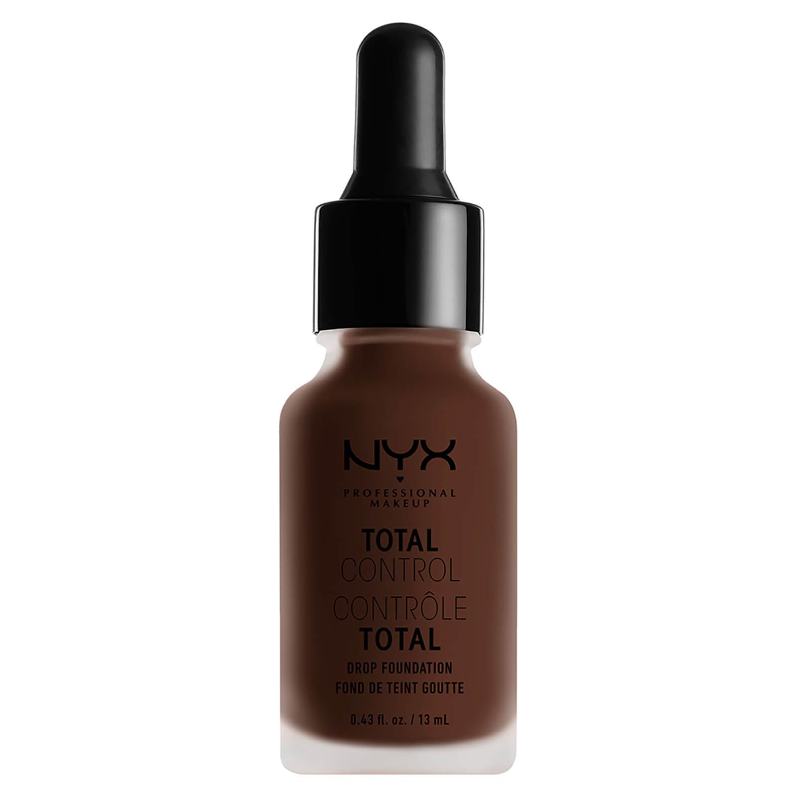 Купить Стойкая тональная основа NYX Professional Makeup Total Control Drop Foundation (различные оттенки) - Deep Espresso