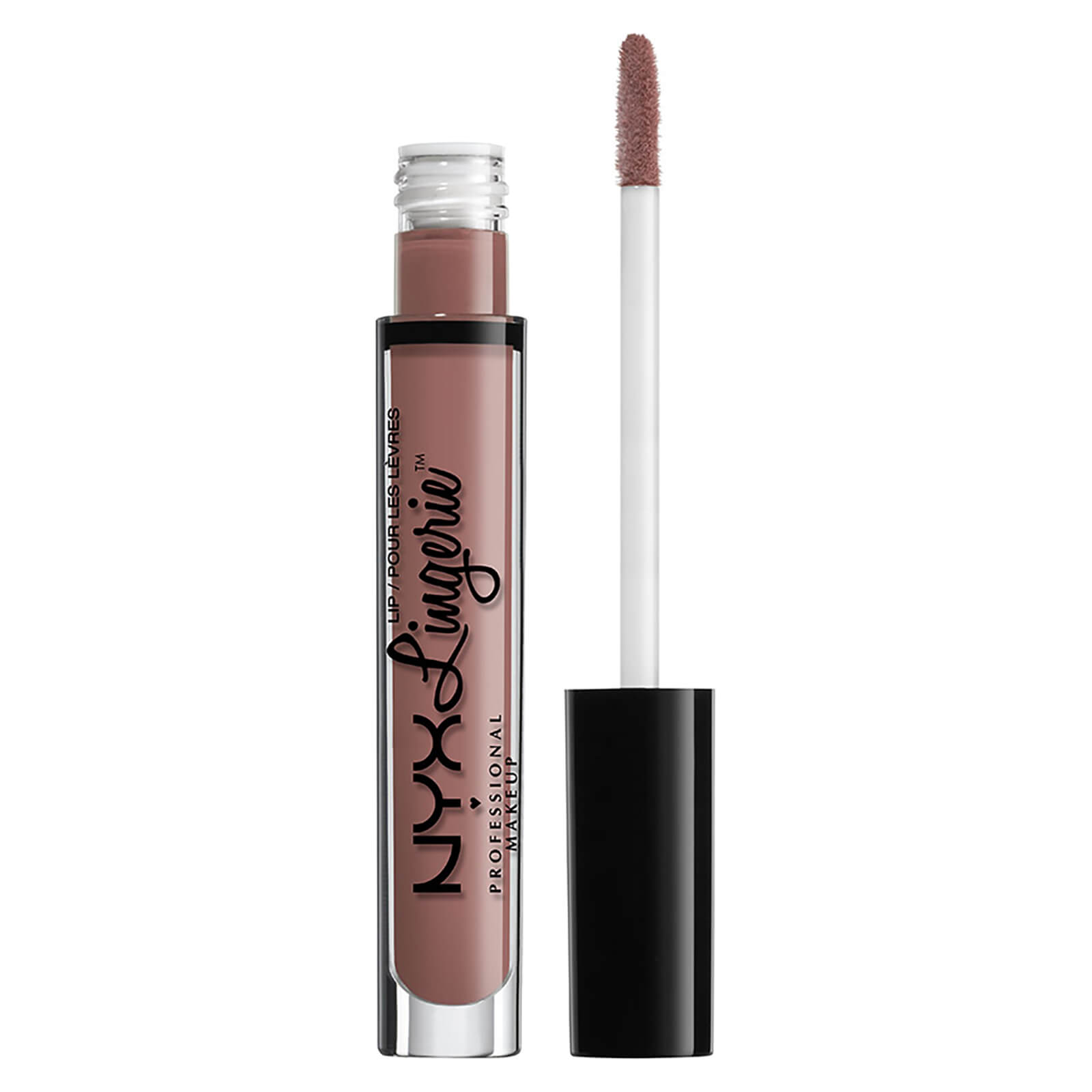 nyx professional makeup lip lingerie liquid lipstick (various shades) - bustier