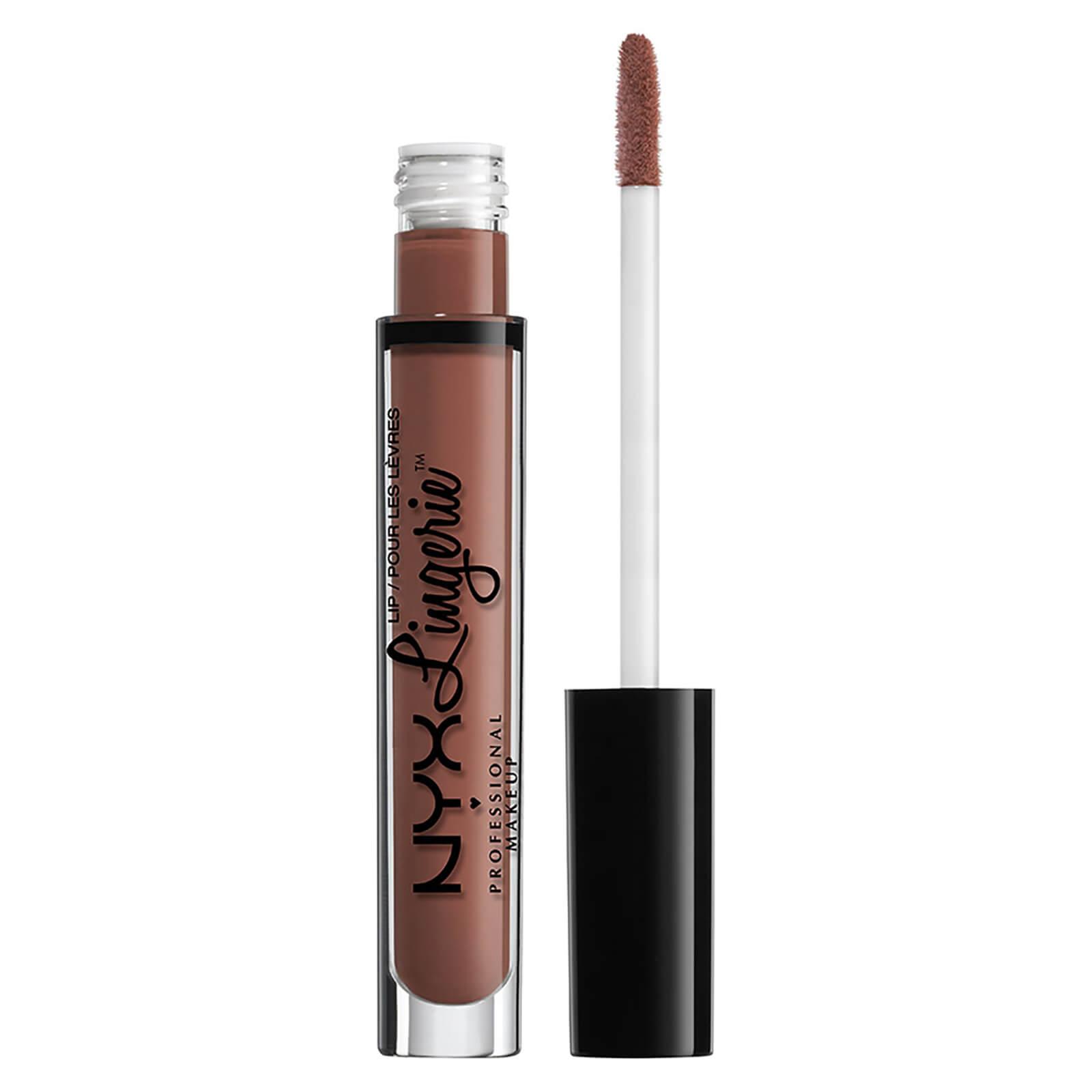Купить Жидкая помада для губ NYX Professional Makeup Lip Lingerie Liquid Lipstick (разные оттенки) - Cabaret Show