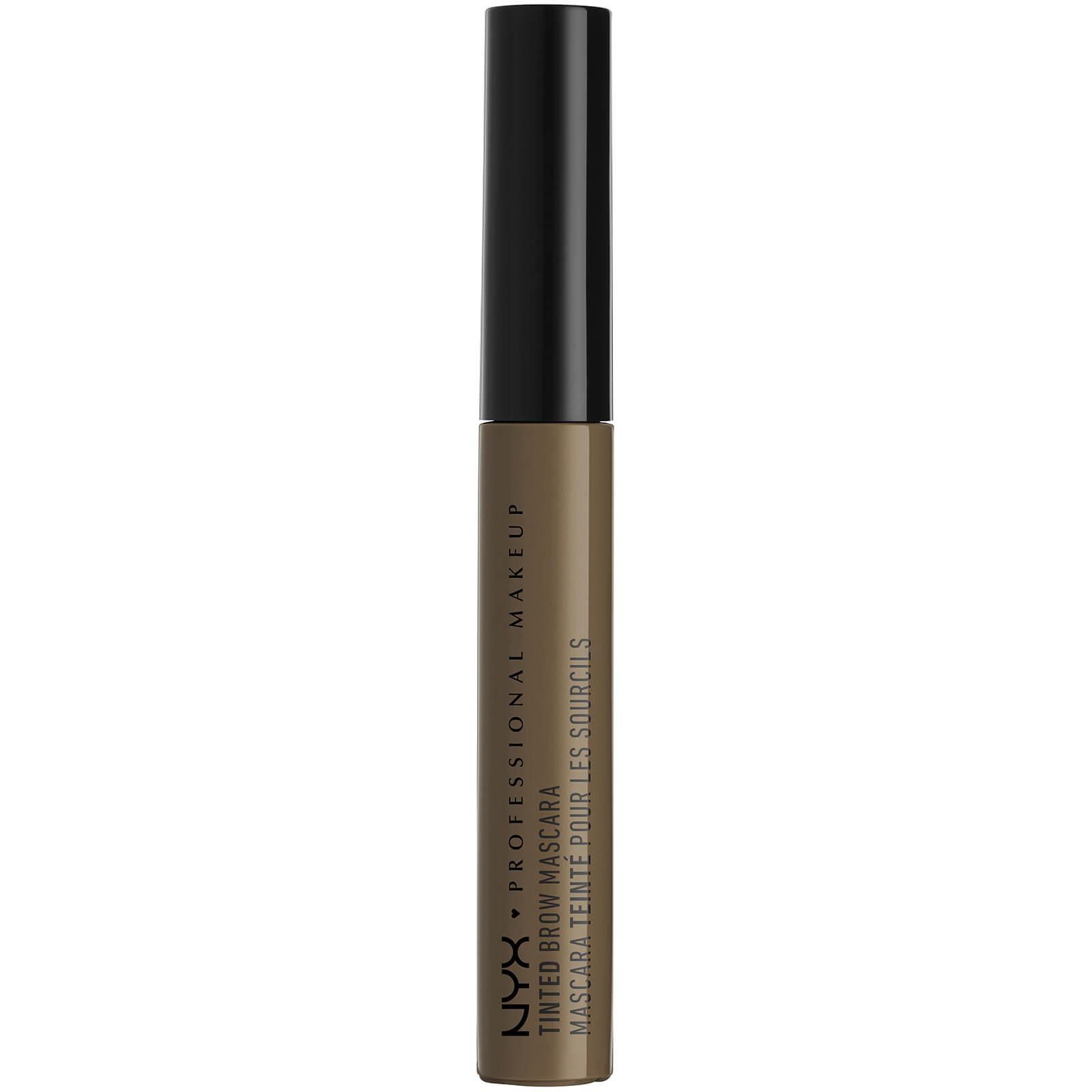 nyx professional makeup tinted brow mascara (various shades) - brunette