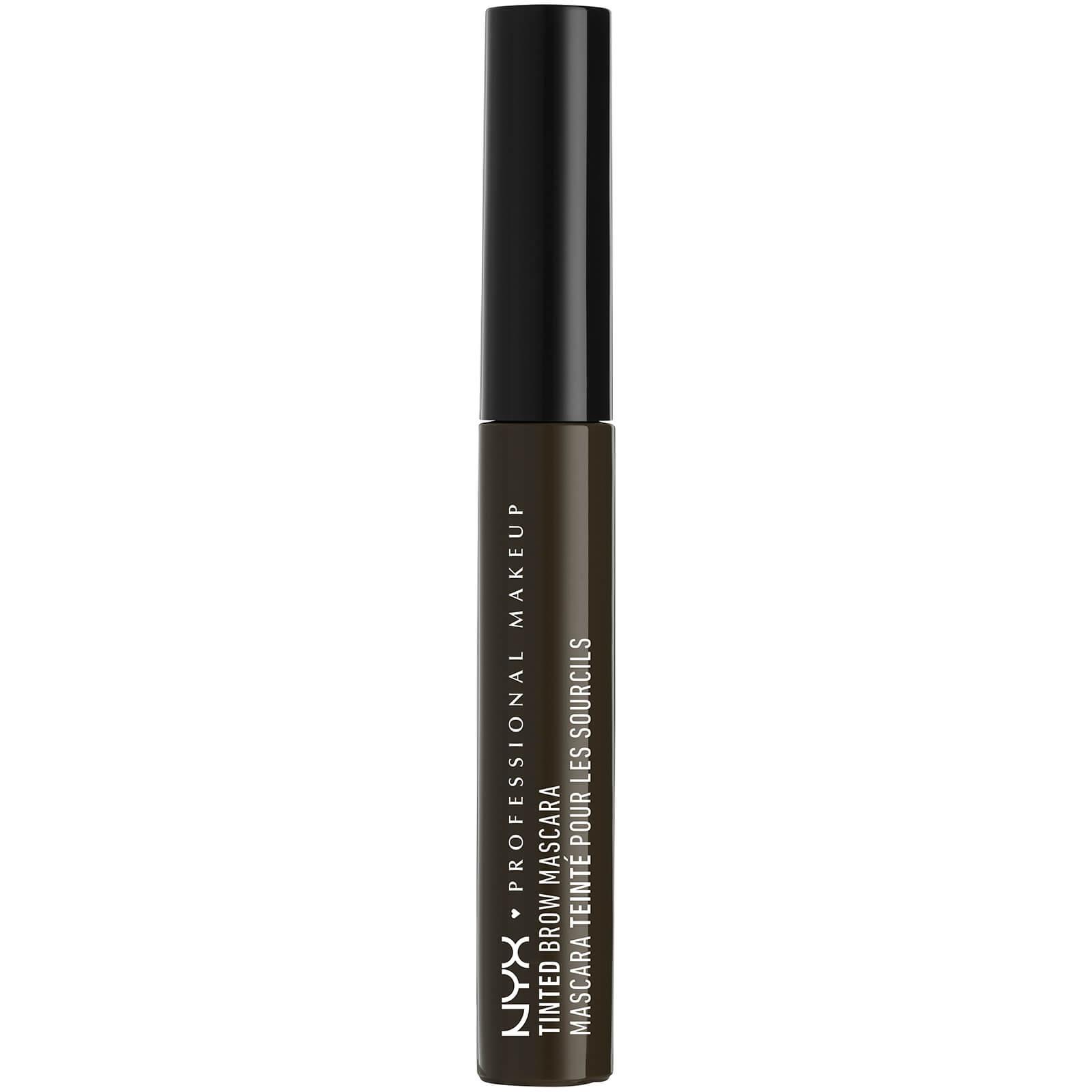 Máscara com Cor para as Sobrancelhas da NYX Professional Makeup (Vários tons) - Black