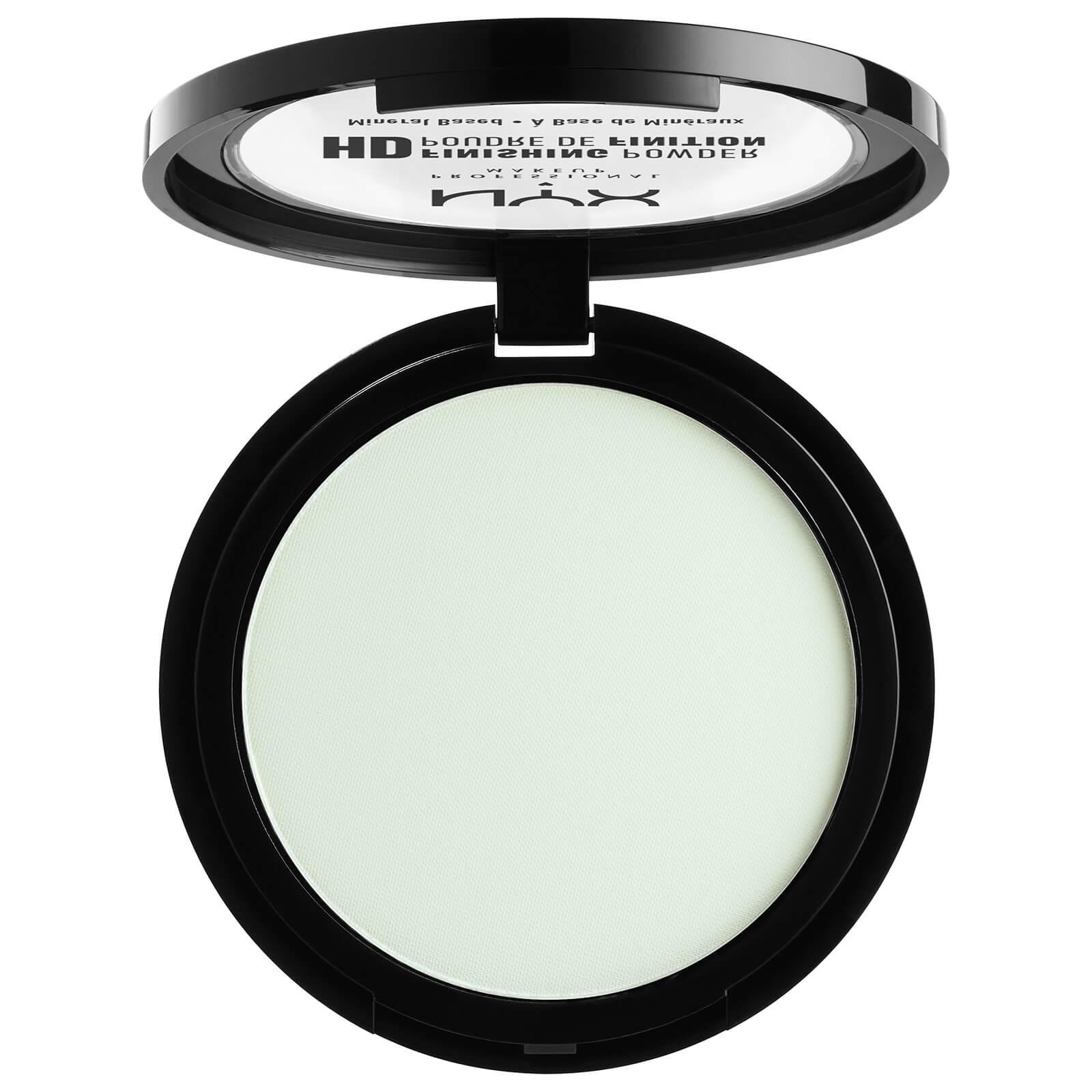 Купить Фиксирующая пудра для лица NYX Professional Makeup High Definition Finishing Powder (различные оттенки) - Mint Green