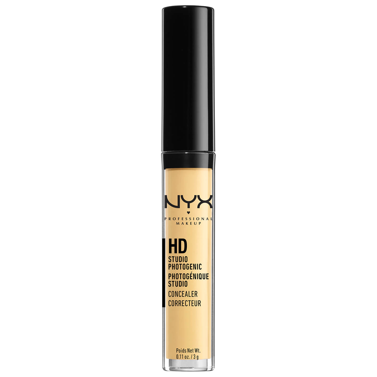NYX Professional Makeup HD Photogenic Concealer Wand (Various Shades) - Yellow