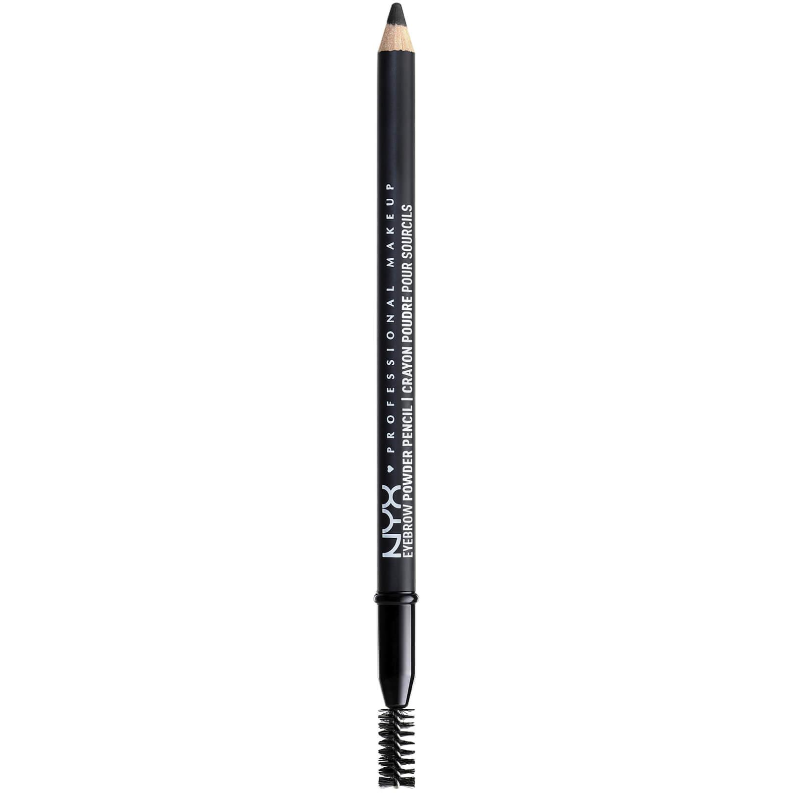 Купить Пудровый карандаш для бровей NYX Professional Makeup Eyebrow Powder Pencil (различные оттенки) - Black