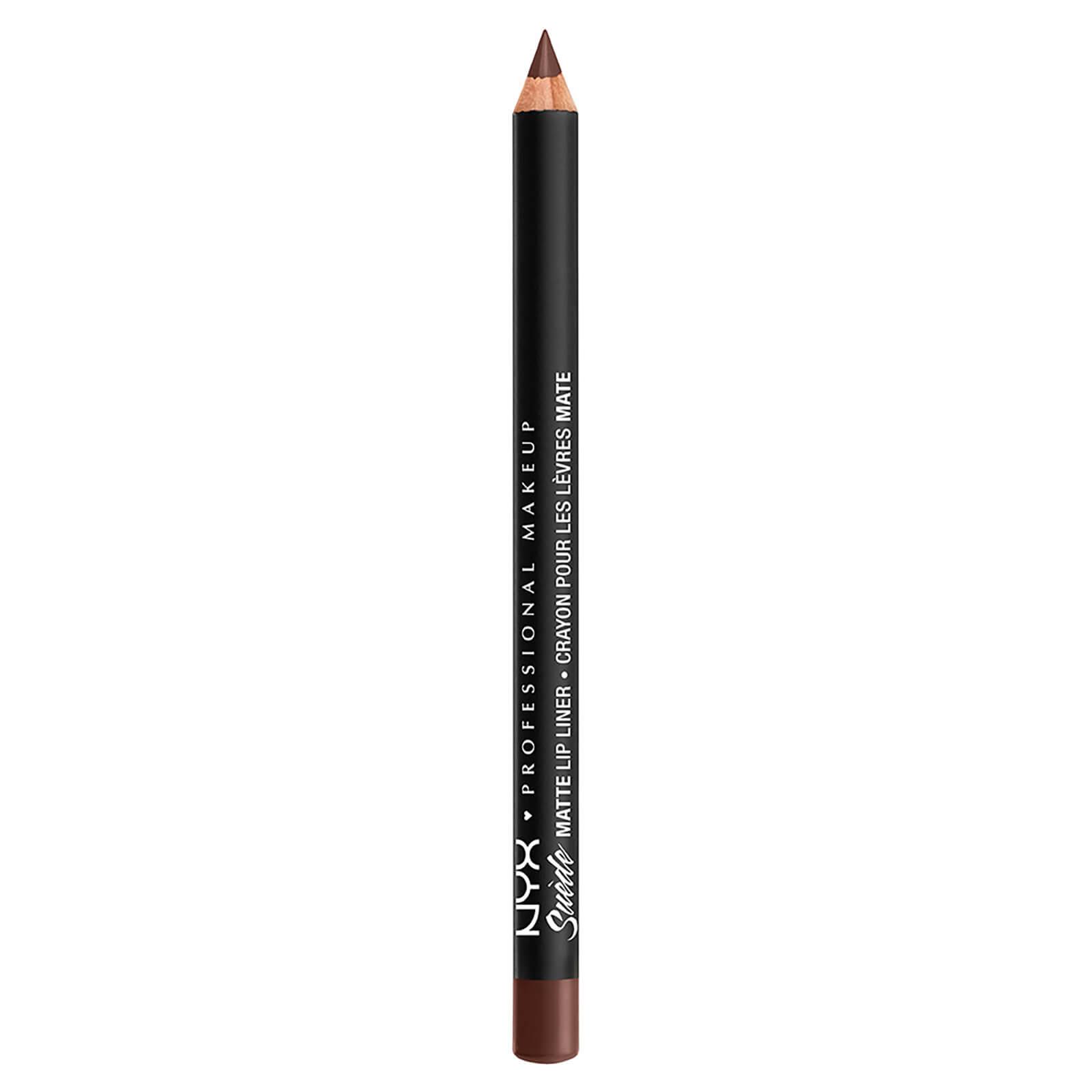 nyx professional makeup suede matte lip liner (various shades) - club hopper
