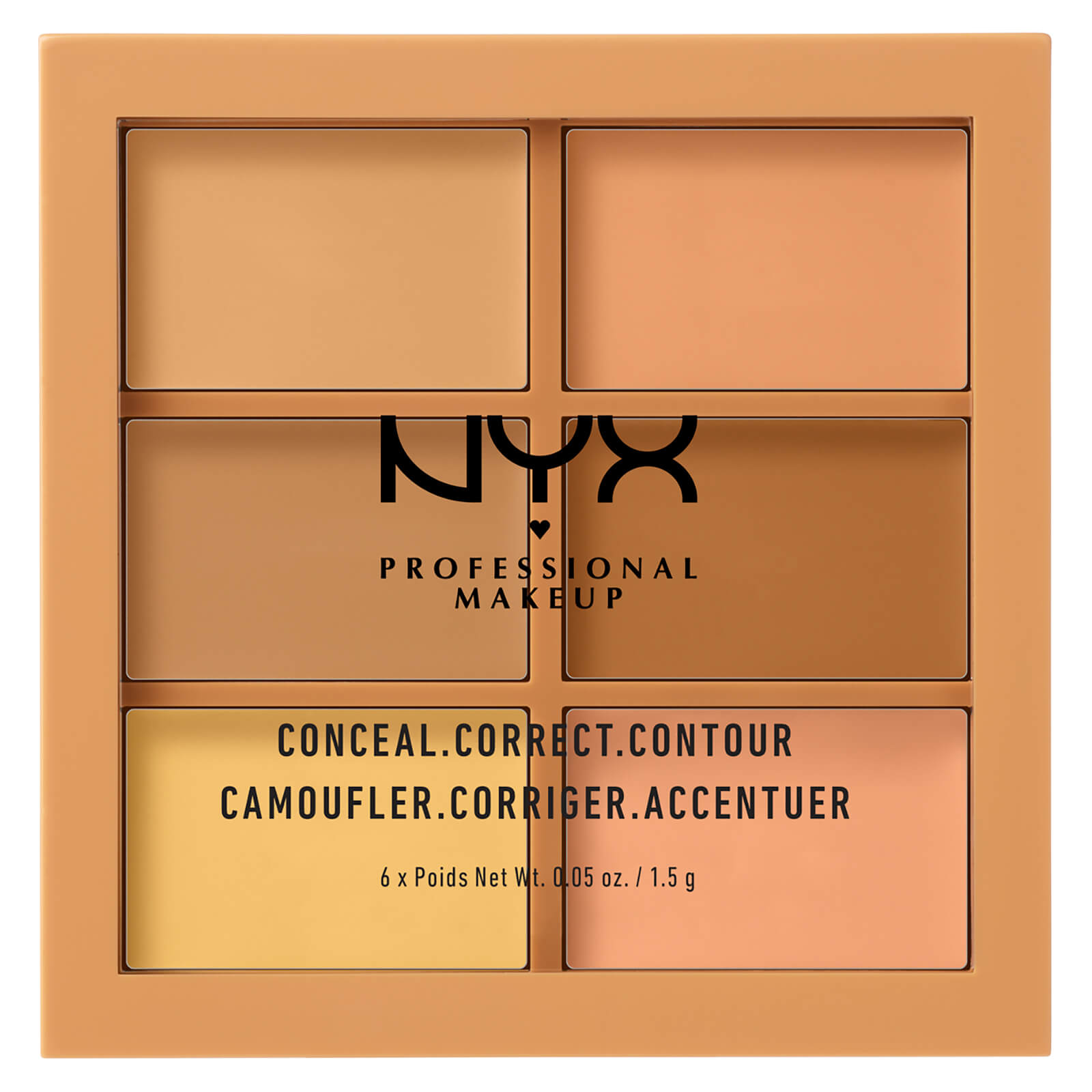 Купить Палетка NYX Professional Makeup 3C Palette - Conceal, Correct, Contour - Medium