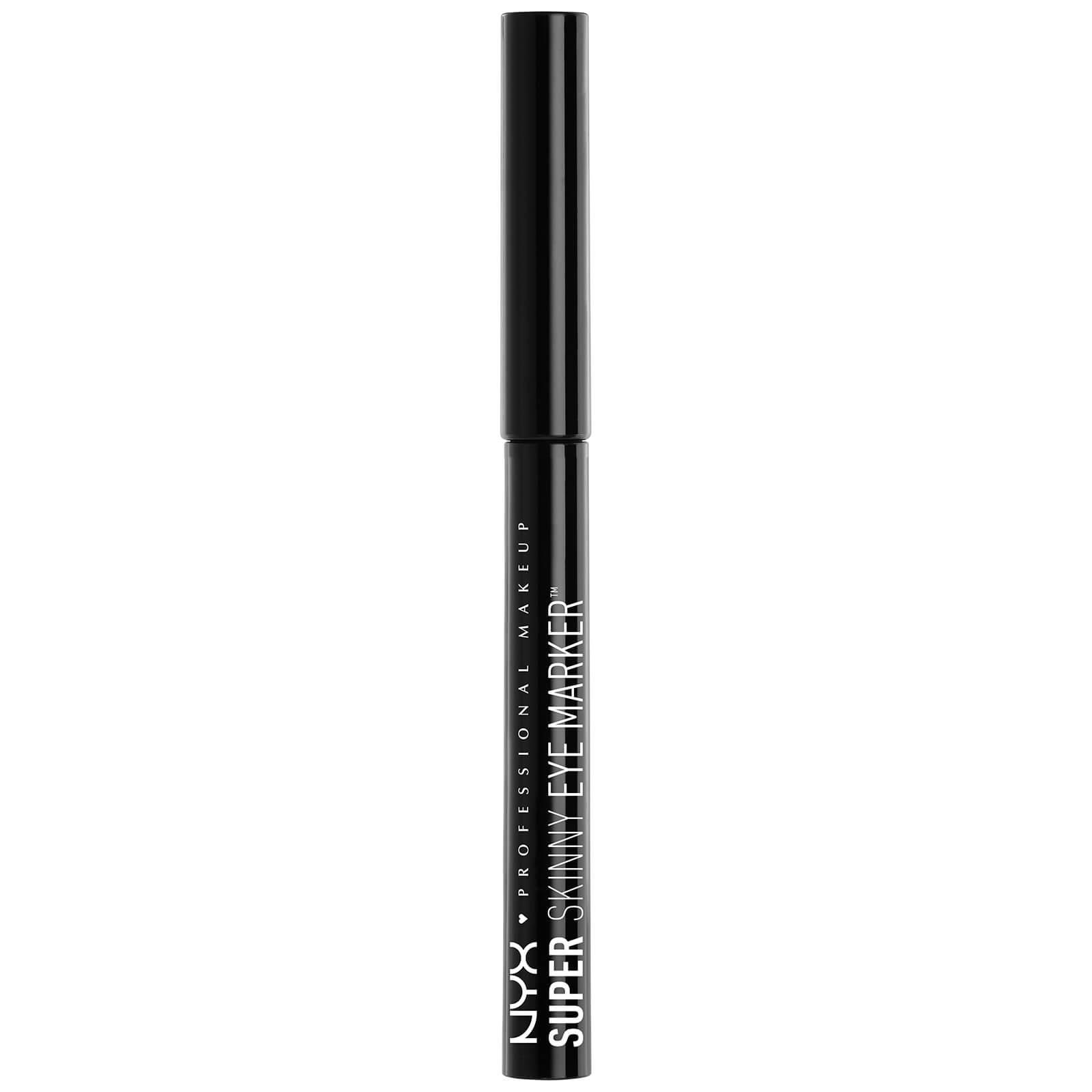 Тонкий маркер для глаз NYX Professional Makeup Super Fat Eye Marker - Carbon Black  - Купить
