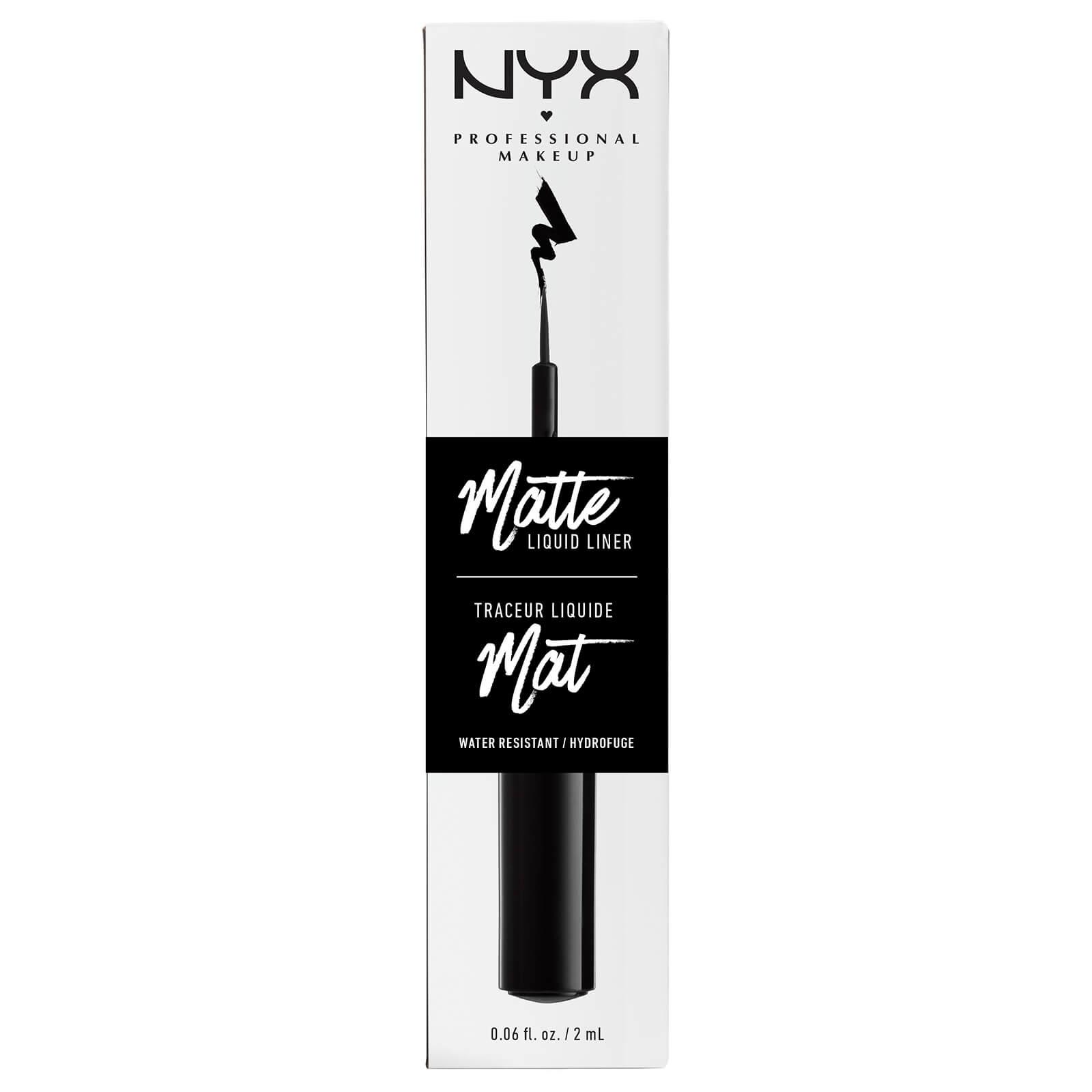 Купить Жидкий матовый лайнер NYX Professional Makeup Matte Liquid Liner - Black