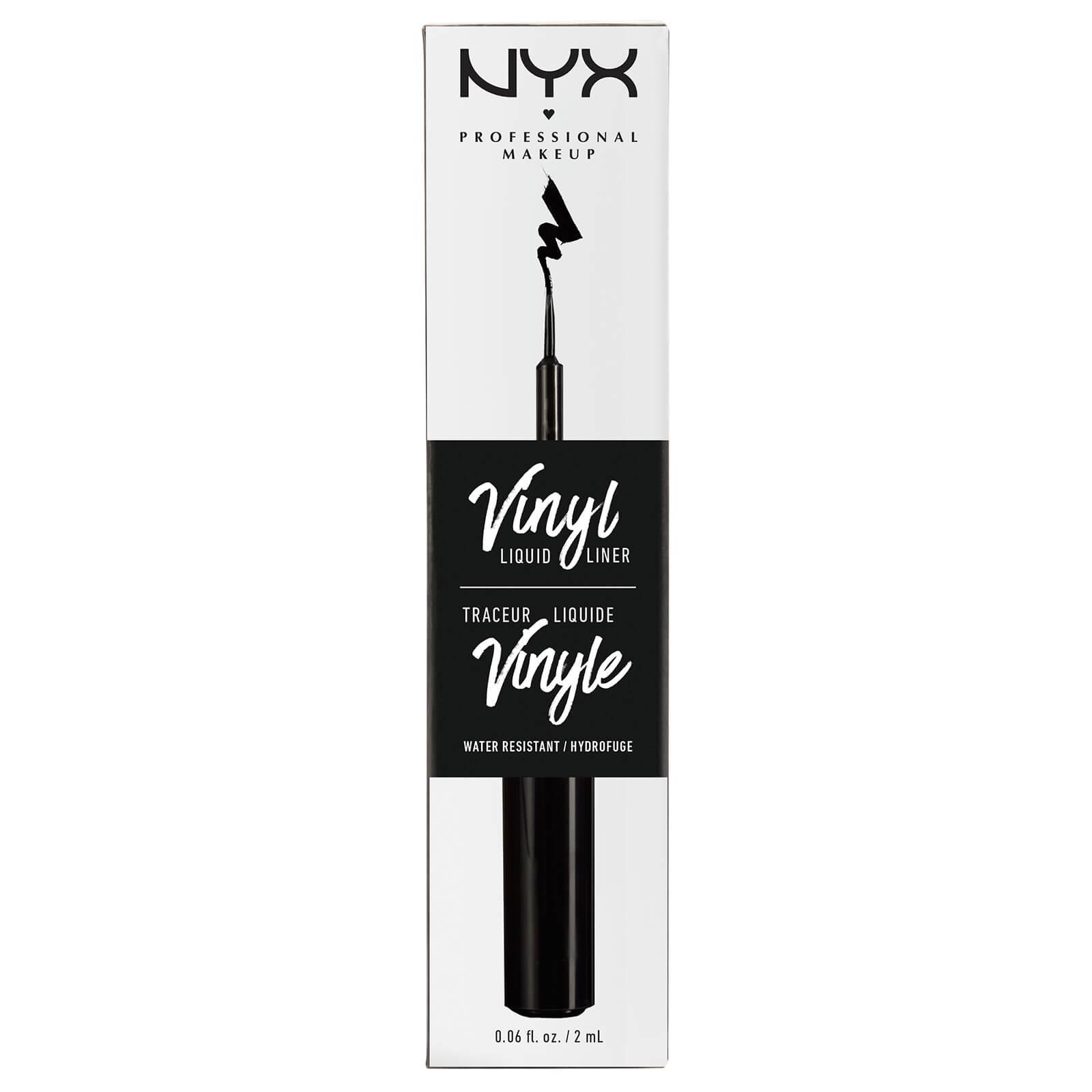 Купить Жидкий лайнер «Виниловый финиш» NYX Professional Makeup Vinyl Liquid Liner - Black