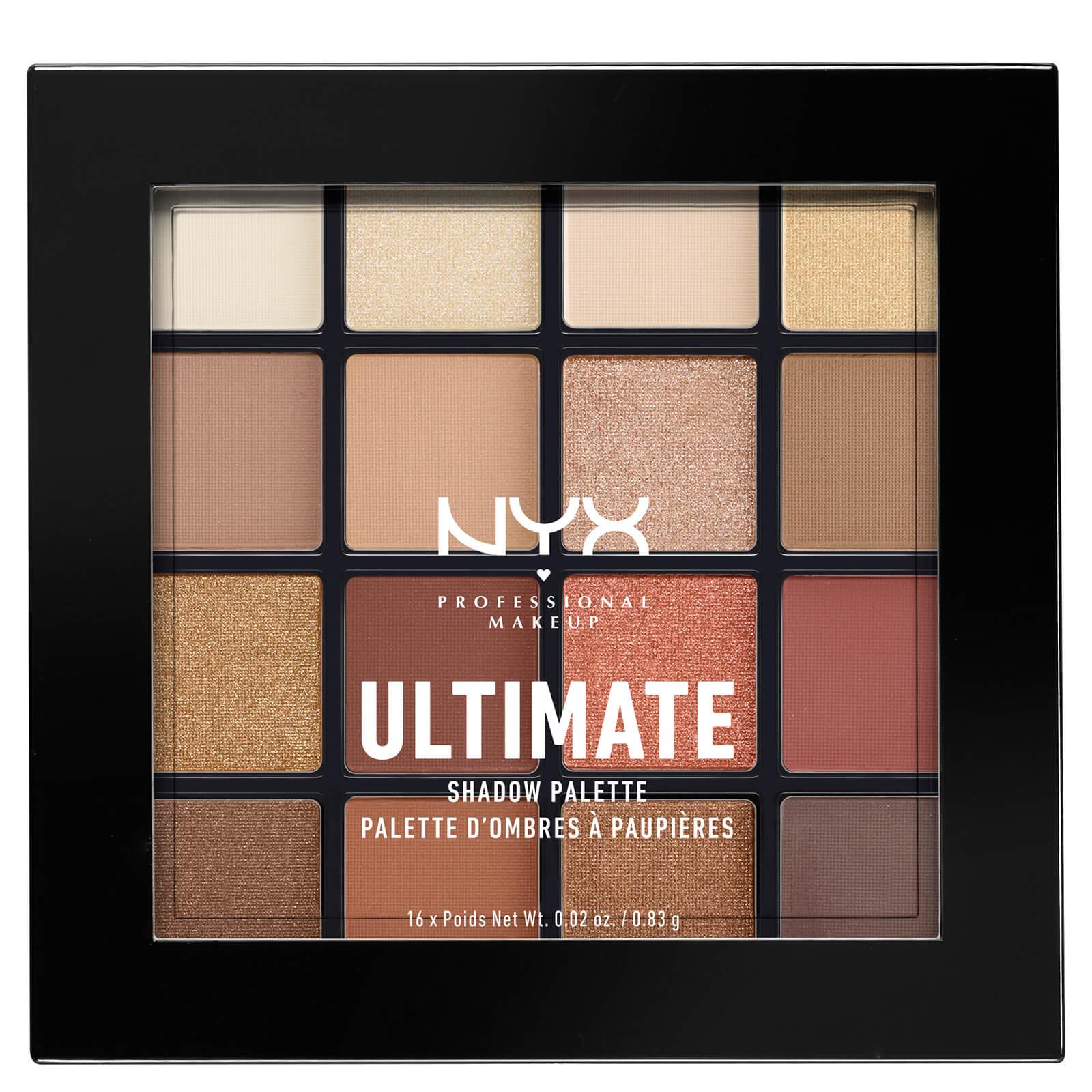 Палетка теней NYX Professional Makeup Ultimate Shadow Palette - Warm Neutrals  - Купить