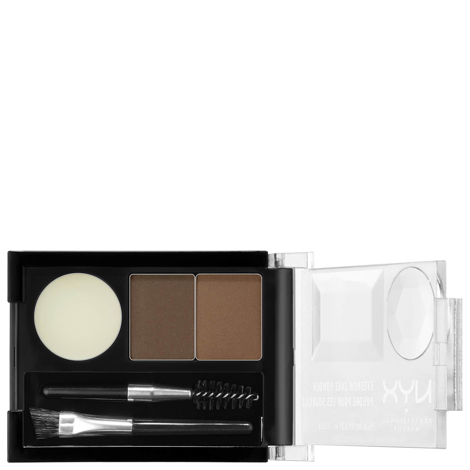 Купить Запеченная пудра для бровей NYX Professional Makeup Eyebrow Cake Powder - Brunette