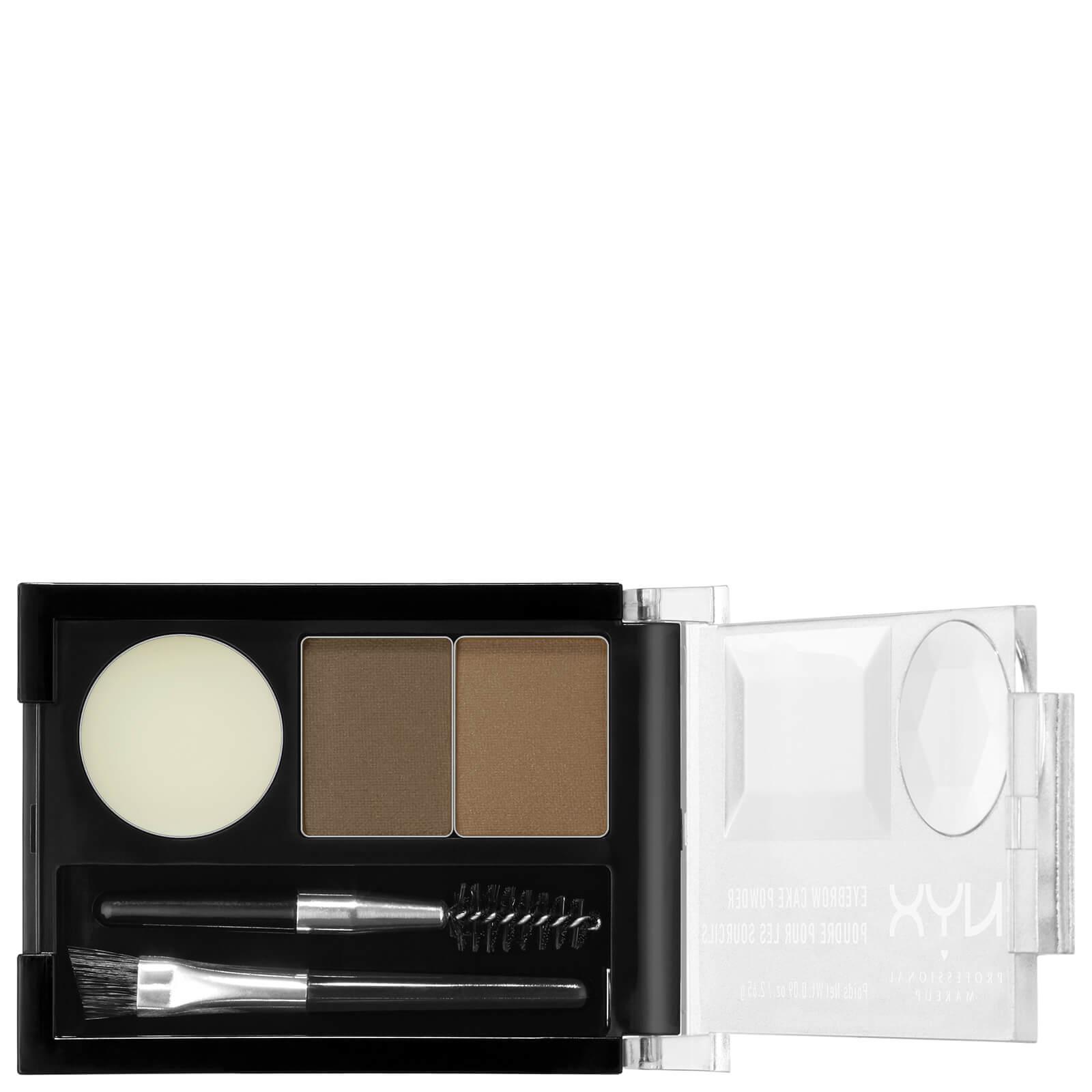 Купить Тени для бровей NYX Professional Makeup Eyebrow Cake Powder - Blonde