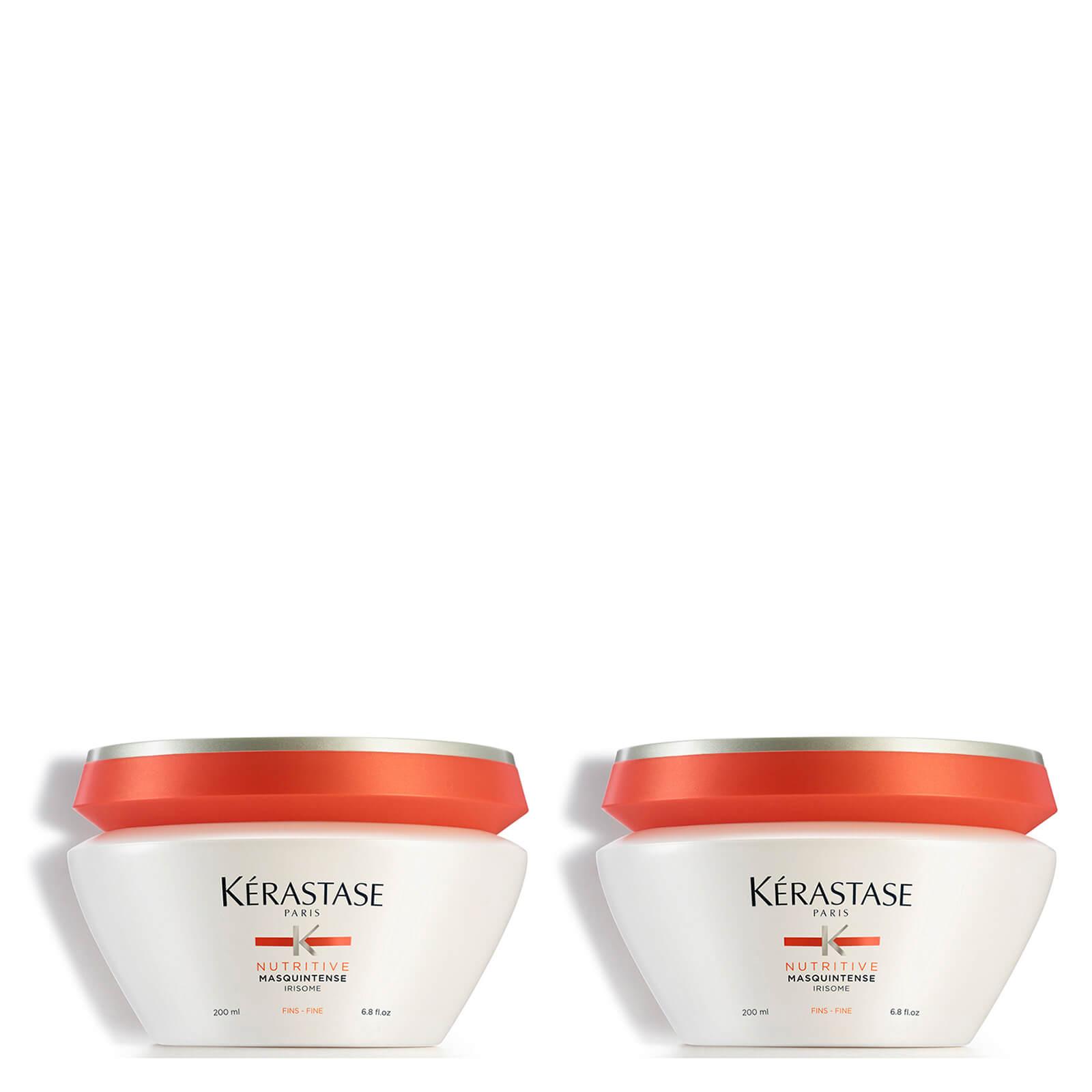 Kérastase Nutritive Masquintense Cheveux Fins For Fine Hair 200ml Duo