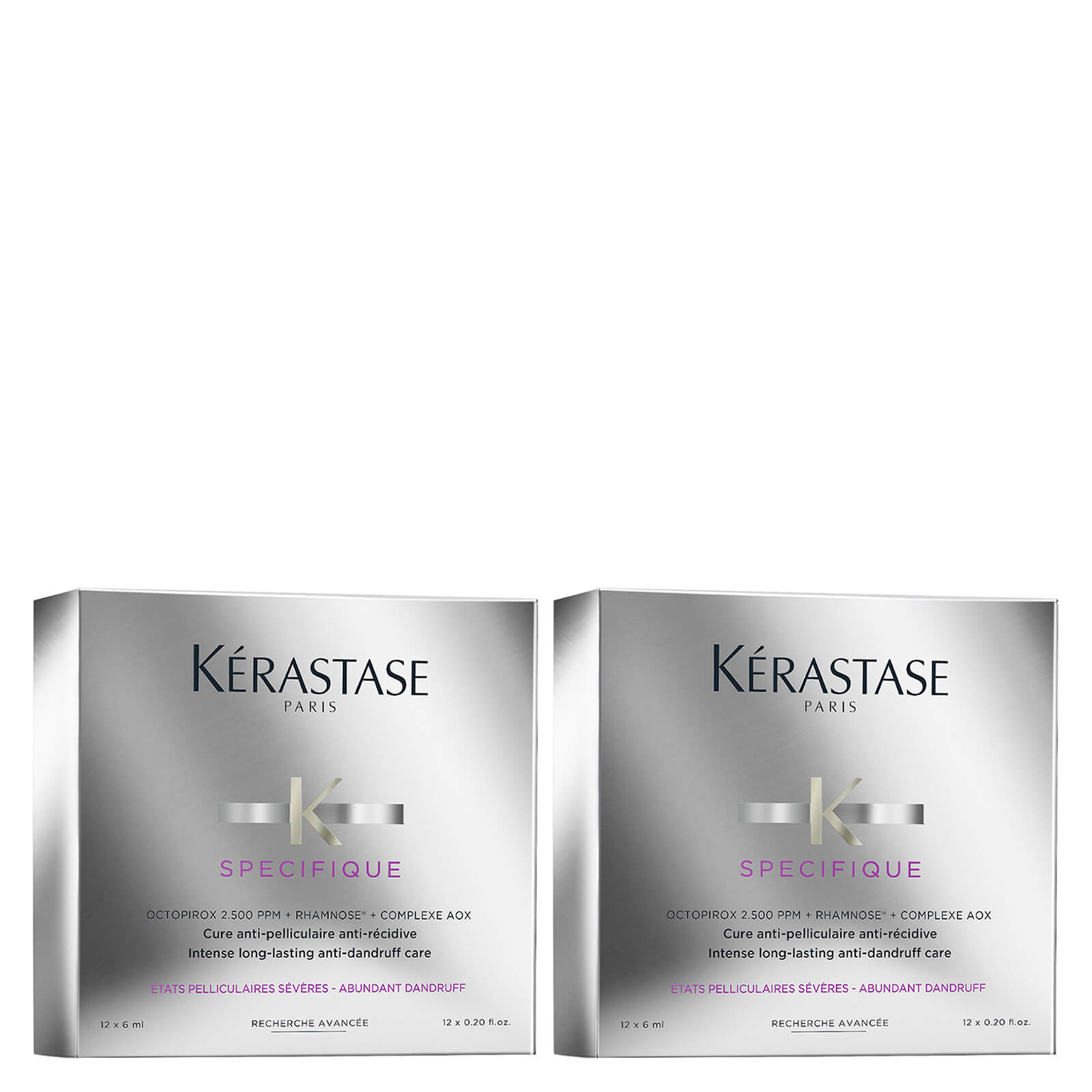 Kérastase Specifique Cure Anti-Pelliculaire Anti-Recidive Treatment 12 x 6ml Duo