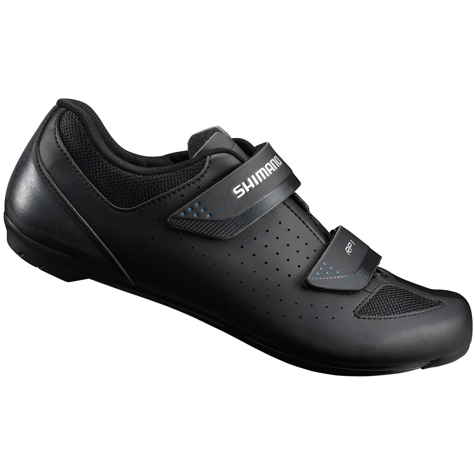 Shimano RP1 Road Shoes - Black - UK 2.5/EU 36 - Black