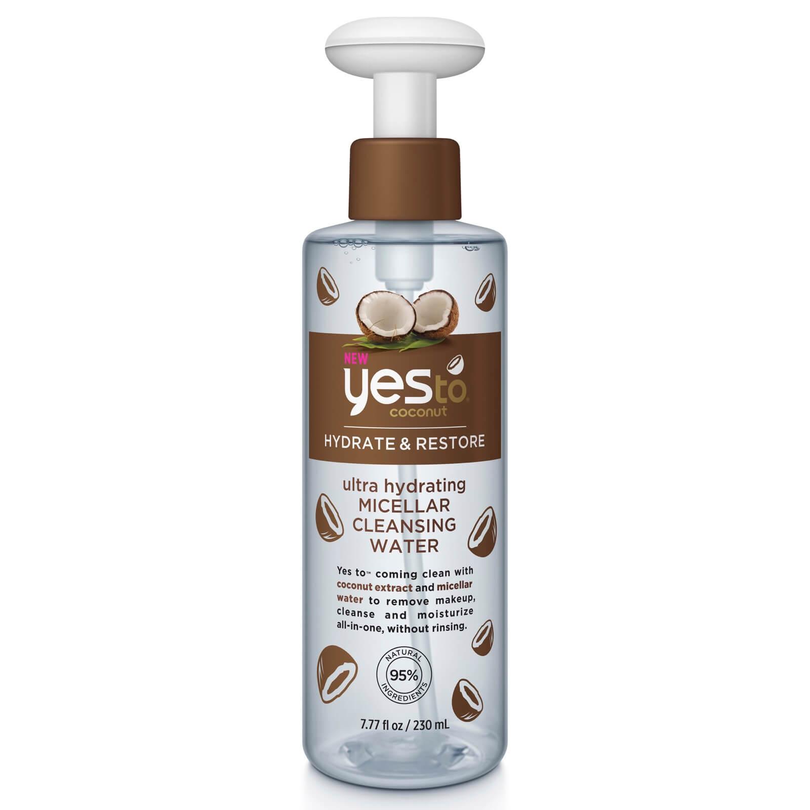 Купить Увлажняющая мицеллярная очищающая вода с кокосовым маслом yes to Coconut Ultra Hydrating Micellar Cleansing Water