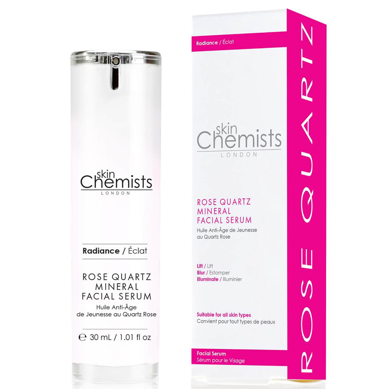 Купить Минеральная сыворотка для лица с экстрактом розы skinChemists London Rose Quartz Mineral Facial Serum 30мл