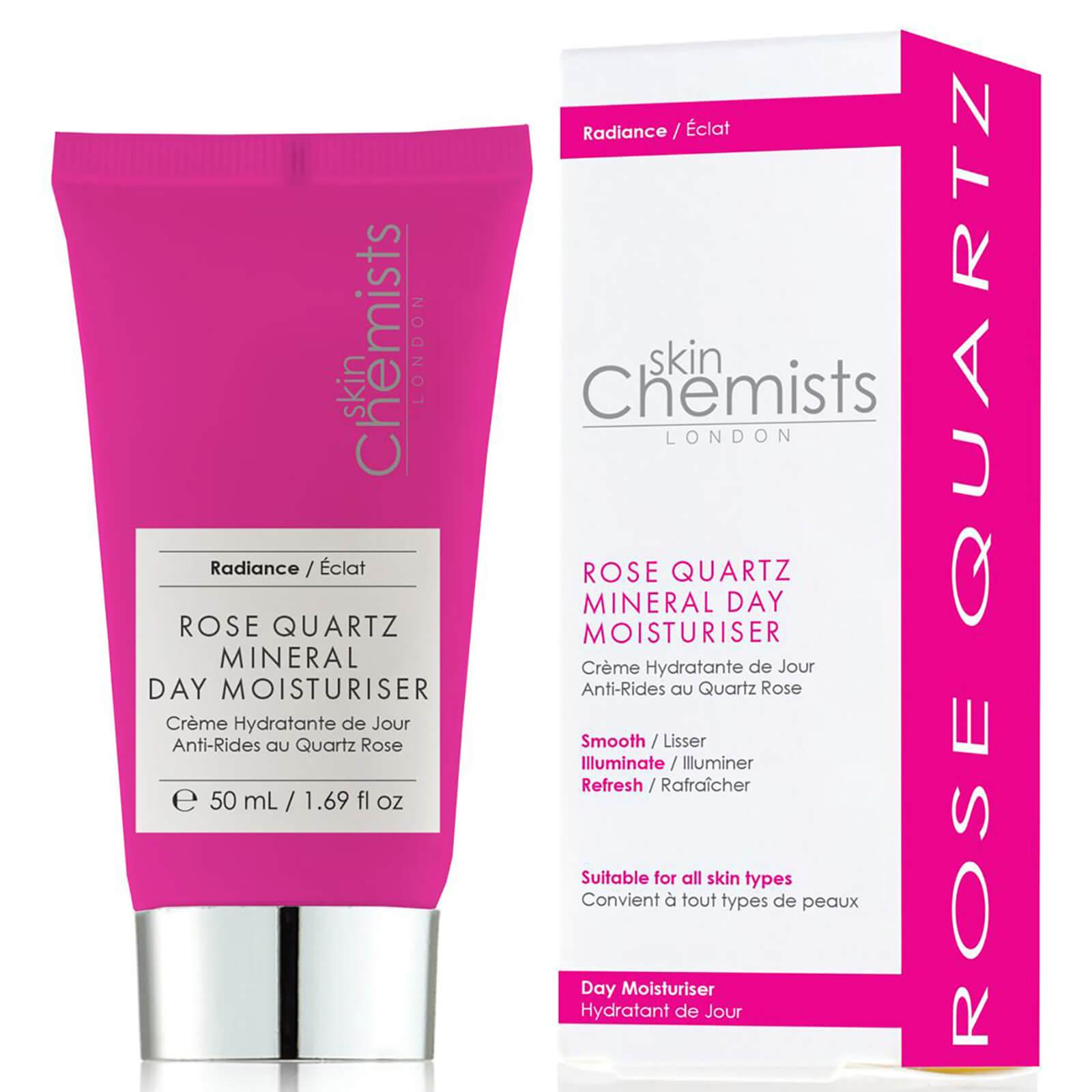 Купить Минеральный увлажняющий дневной крем для лица с экстрактом розы skinChemists London Rose Quartz Mineral Day Moisturiser 50мл