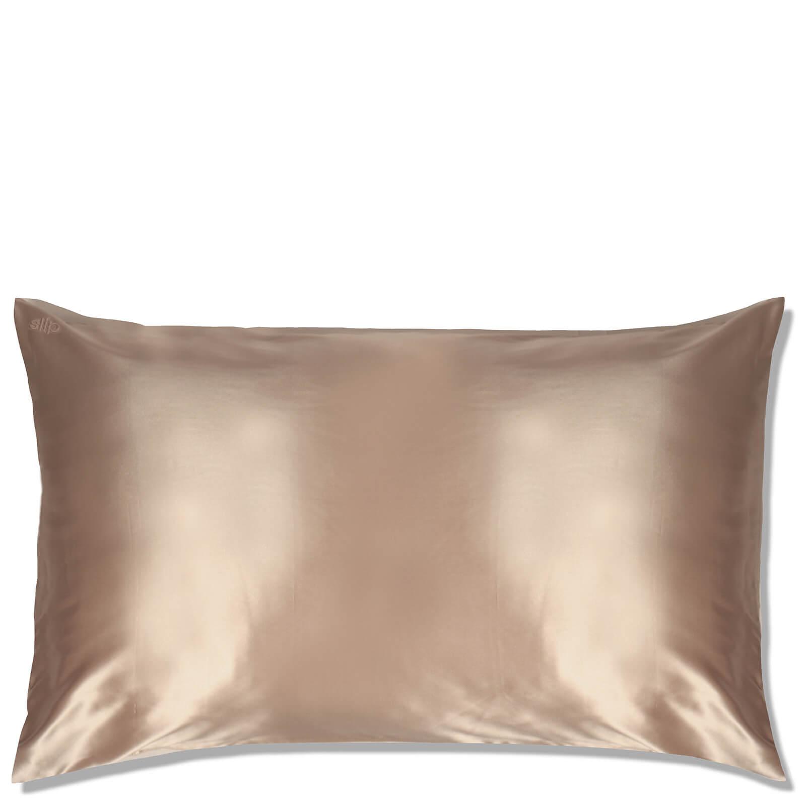 Slip Silk Pillowcase King (Various Colours) - Caramel