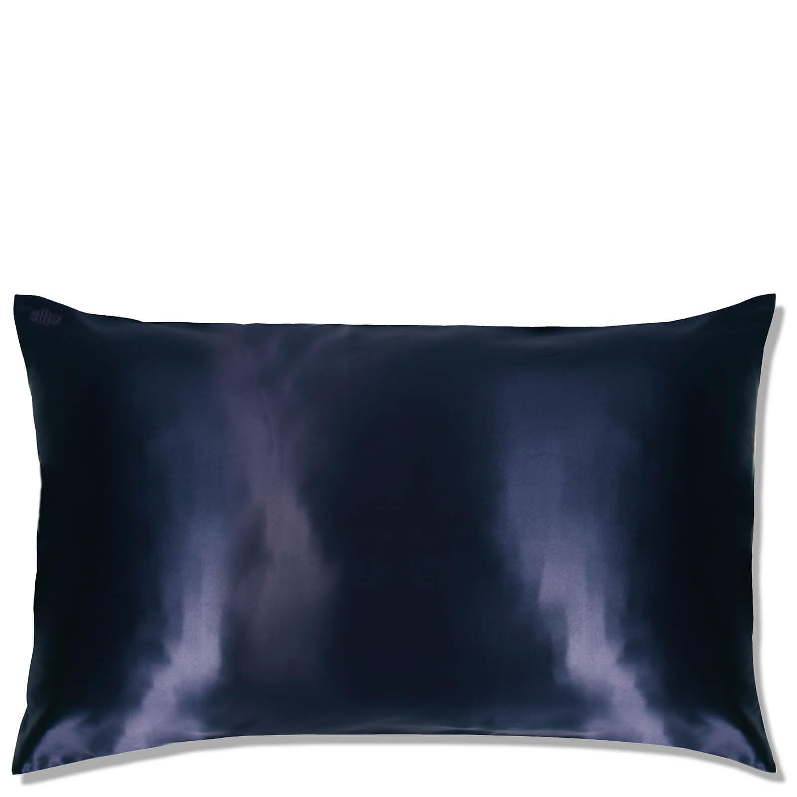 Slip Silk Pillowcase King (Various Colours) - Navy