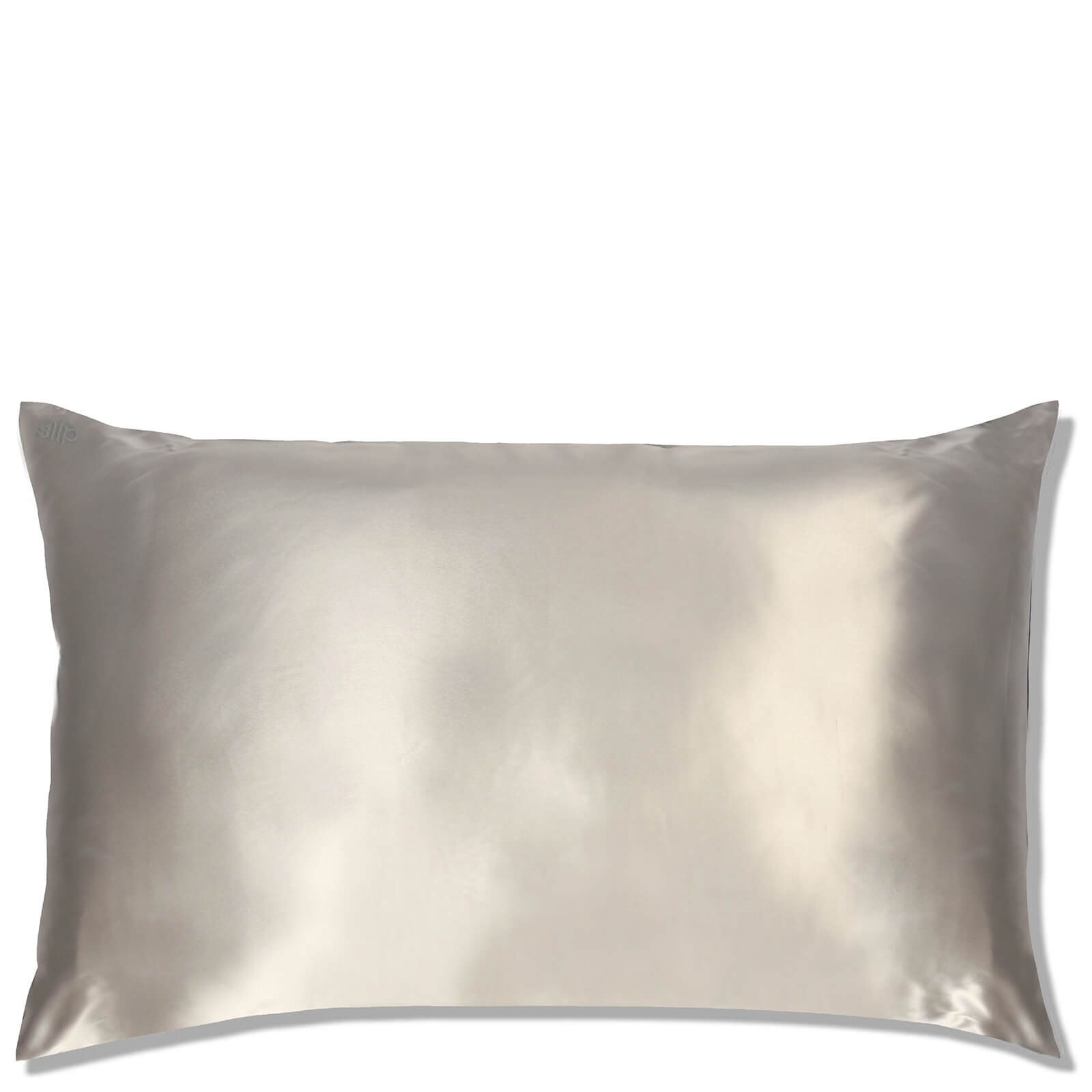 Slip Silk Pillowcase King (Various Colours) - Silver