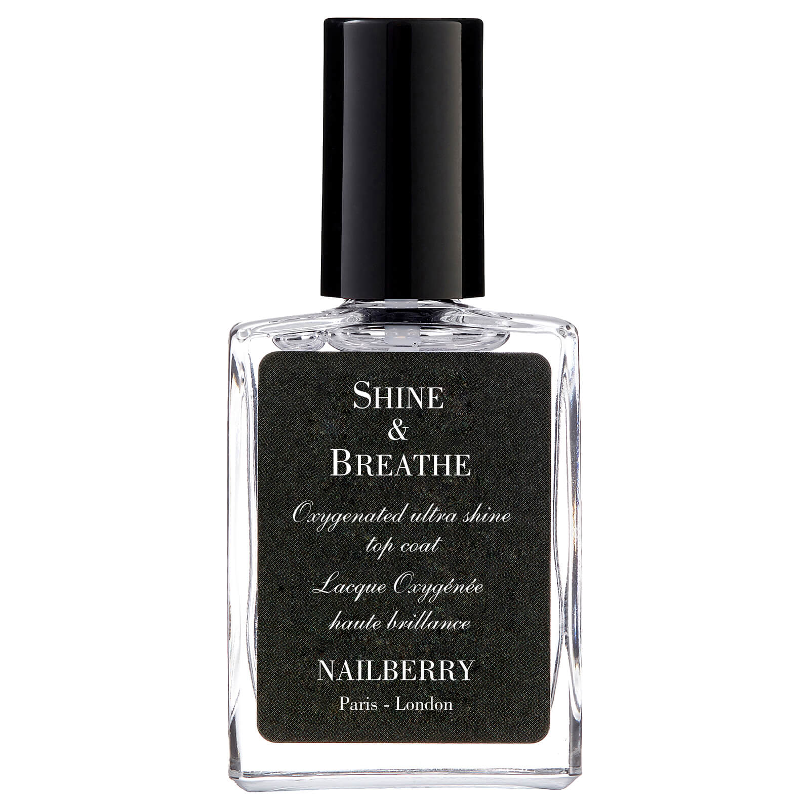 Купить Закрепляющее покрытие Nailberry Shine & Breathe Oxygenated Ultra Shine Top Coat