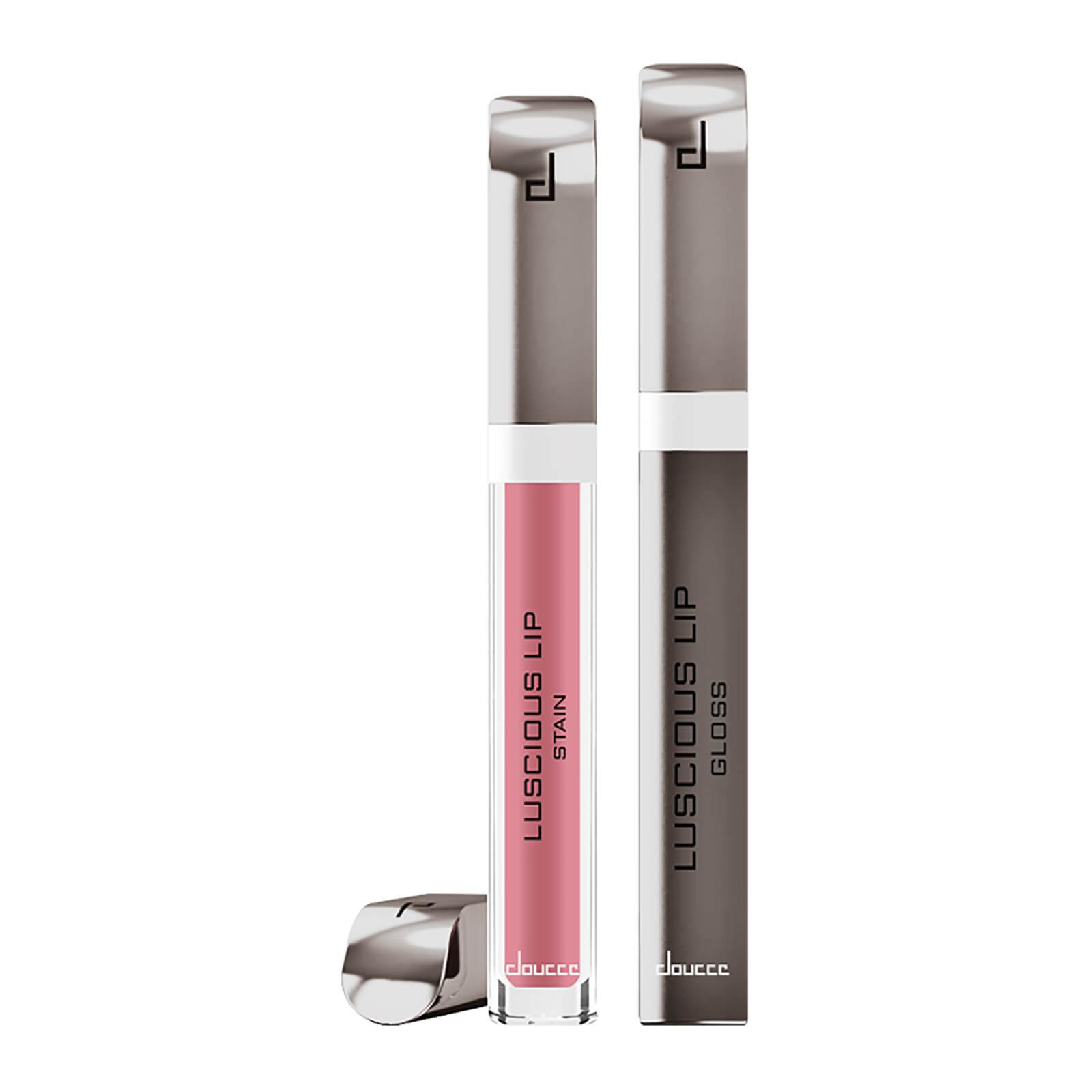 Купить Стойкая матовая жидкая губная помада и блеск для губ doucce Luscious Lip Stain 6г (различные оттенки) - Pinky Sky (604)