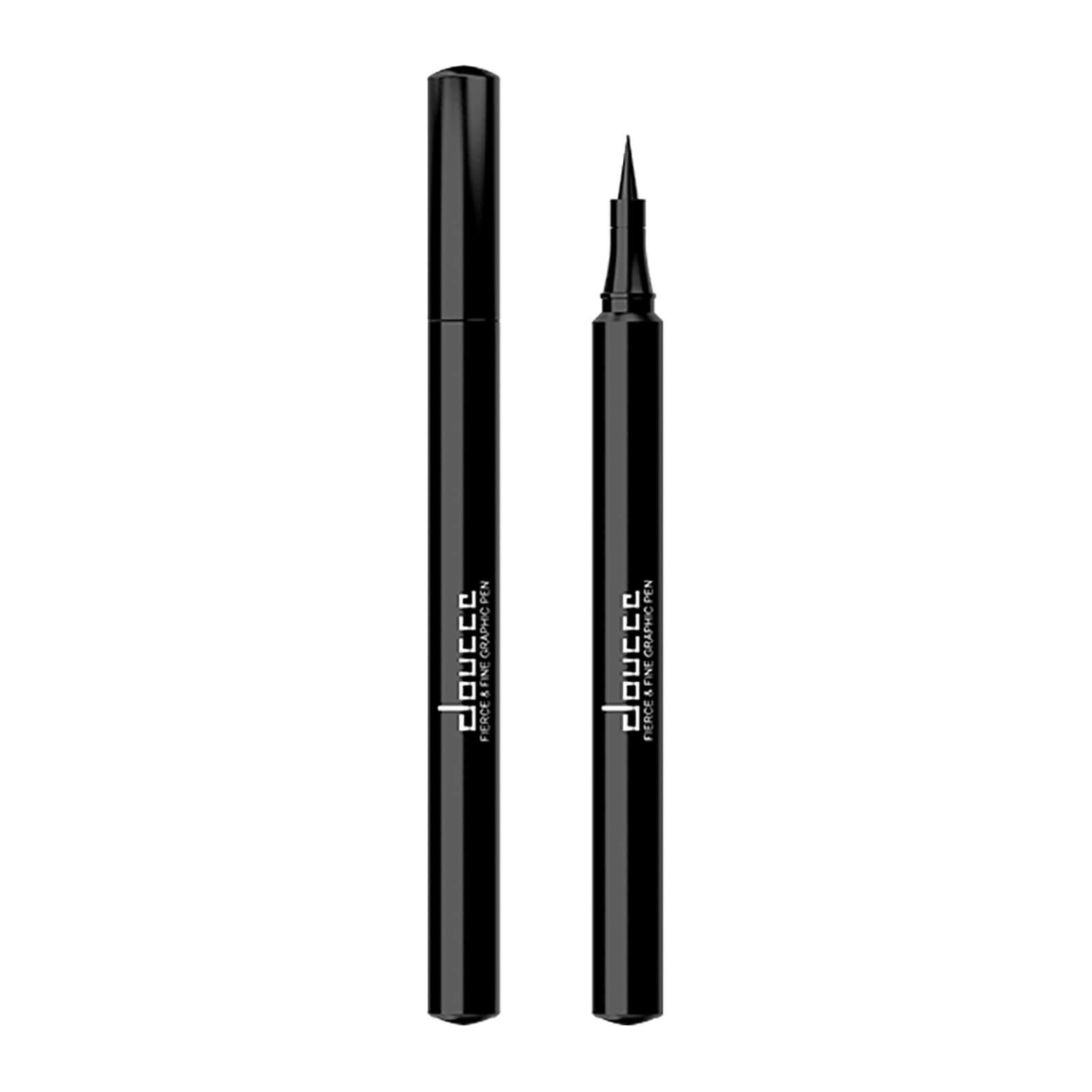 Delineador de Olhos Fierce and Fine - Black da doucce 1,1 g