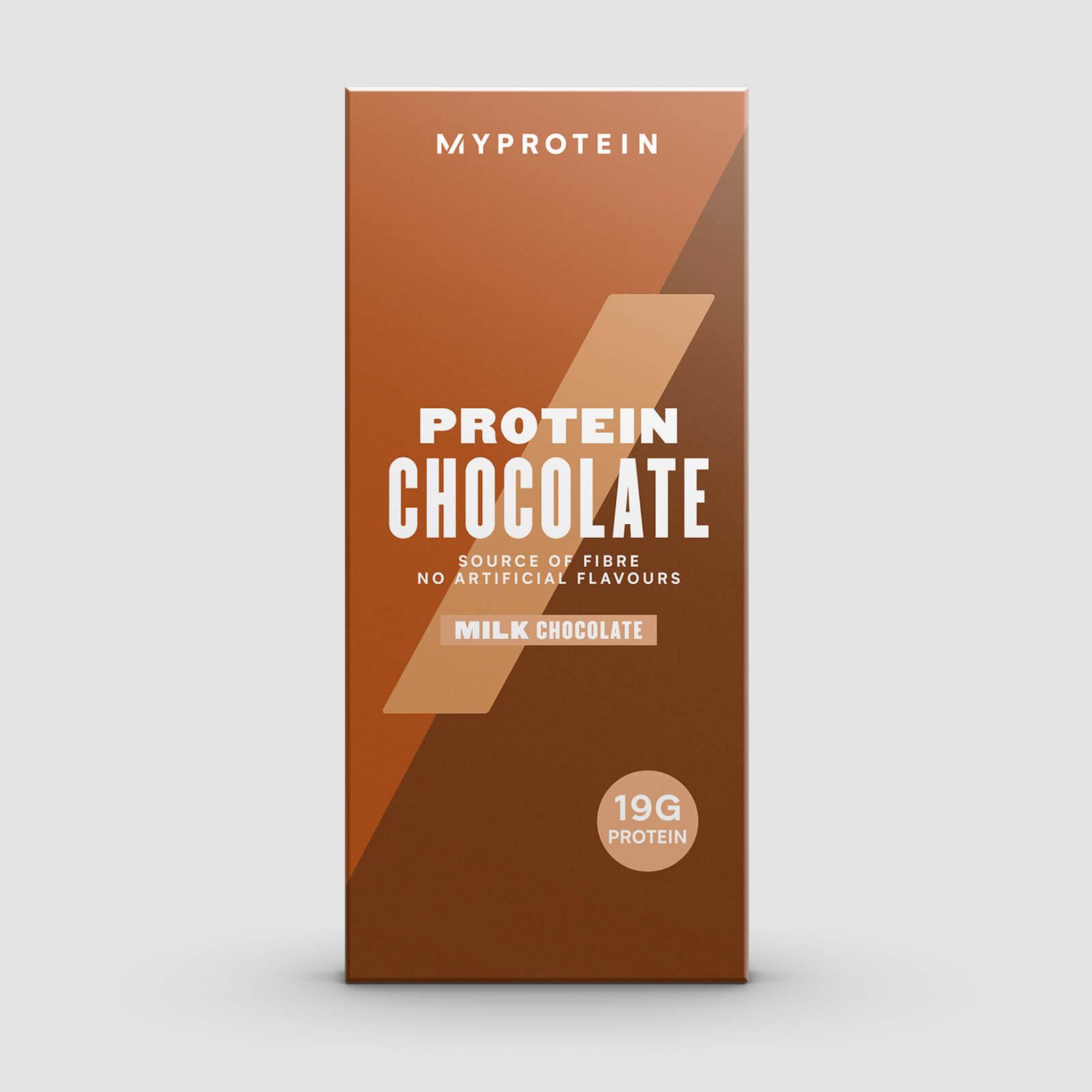 Купить Протеиновый шоколад - 70g - Молочный шоколад, Myprotein International