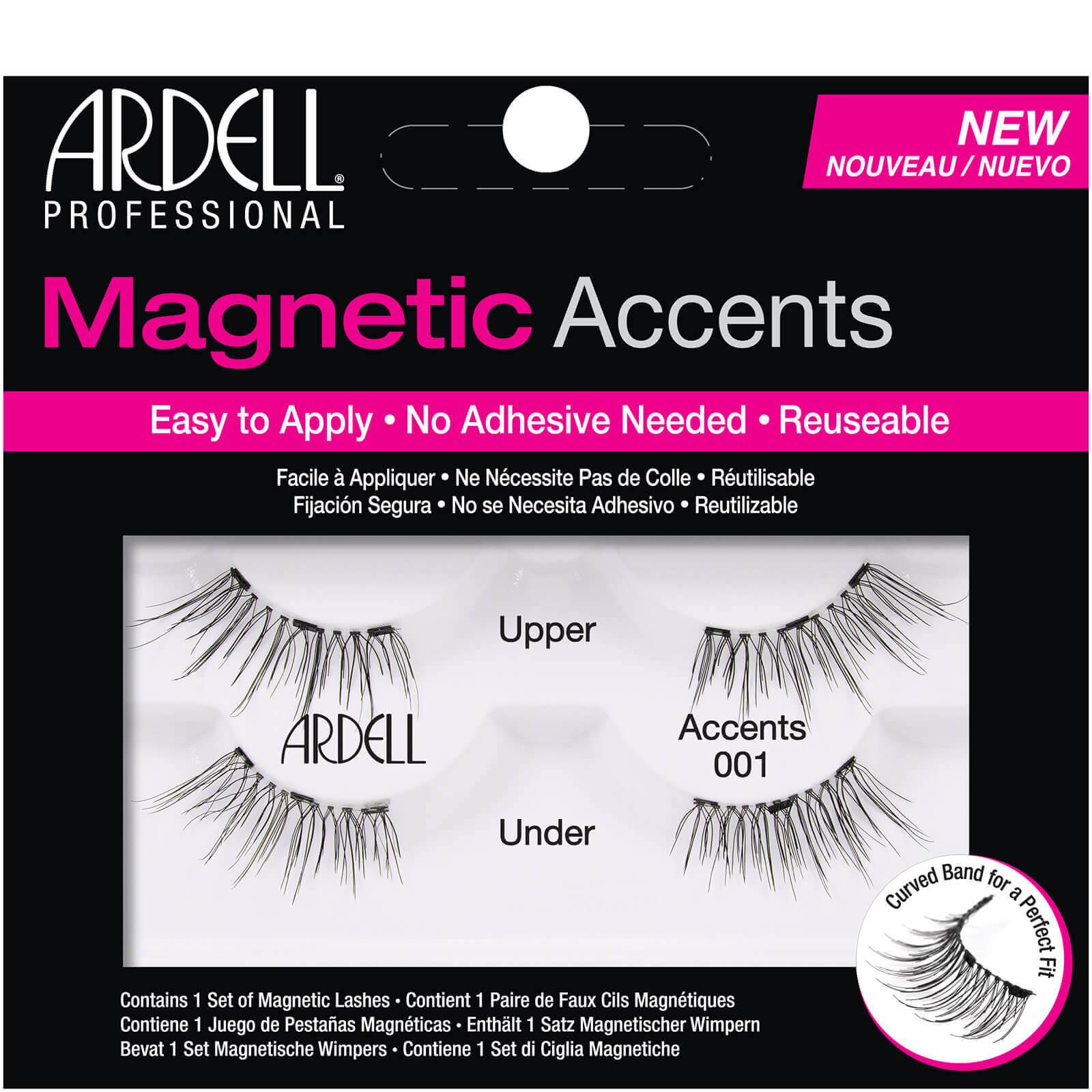 Магнитные накладные ресницы Ardell Magnetic Lash Natural Accents 001 False Eyelashes  - Купить