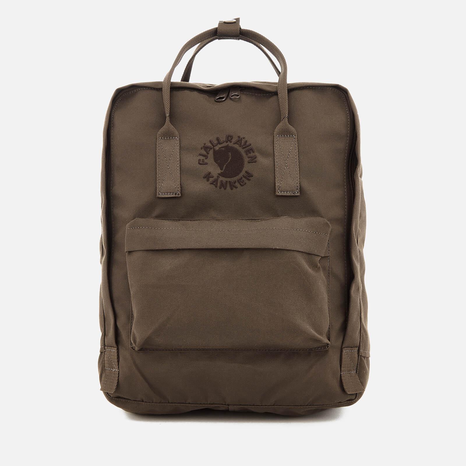 Fjallraven Re Kanken Backpack Dark Olive