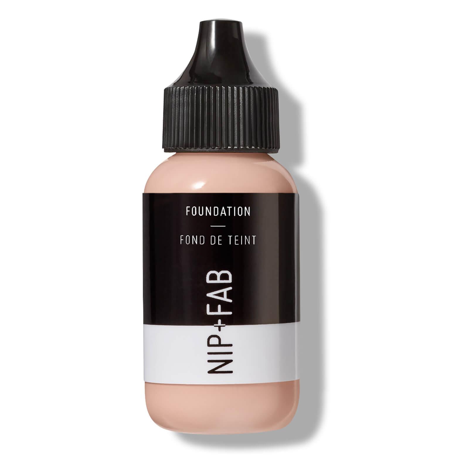 Купить Тональная основа NIP + FAB Make Up Foundation 30 мл (различные оттенки) - 10