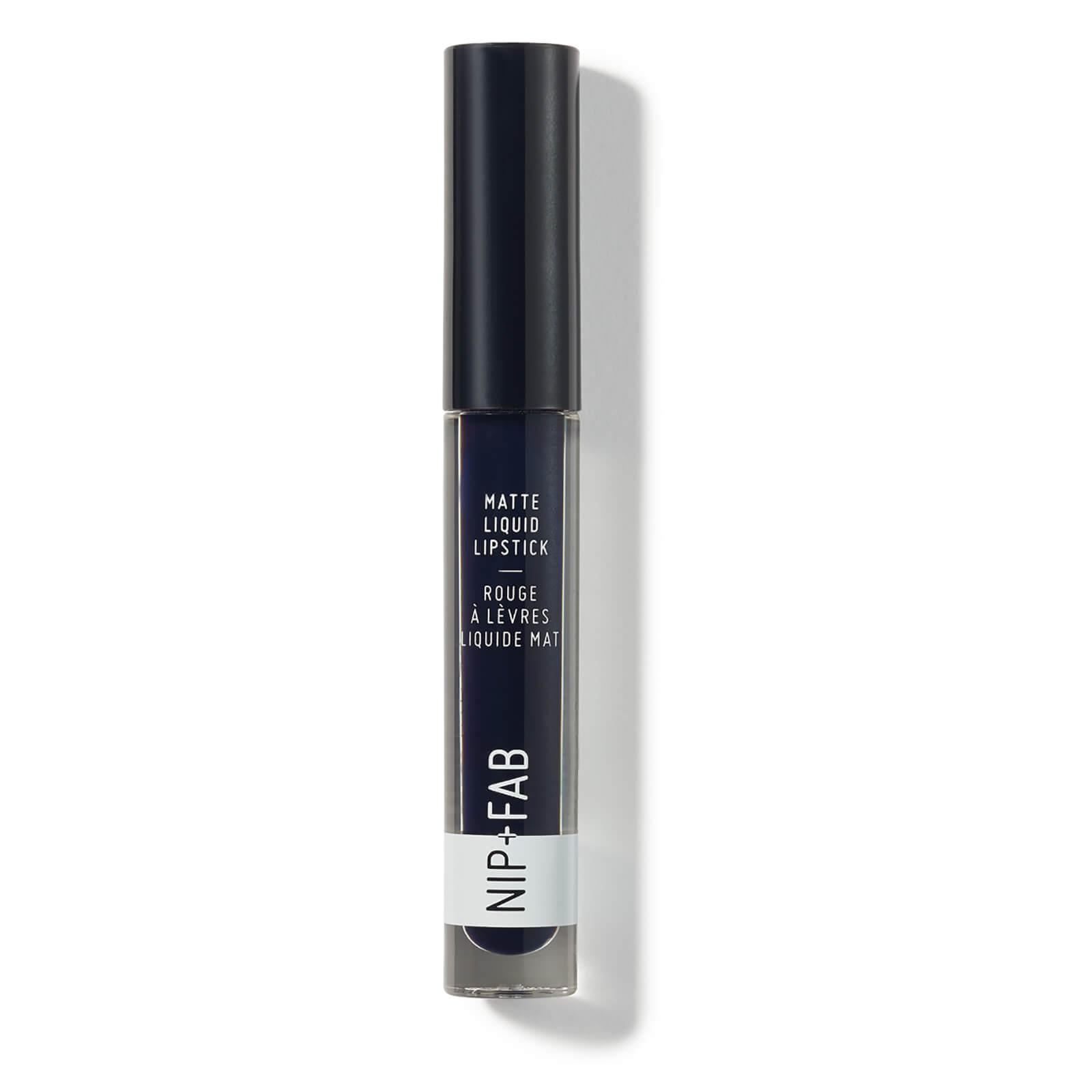 Купить Матовая жидкая губная помада NIP + FAB Make Up Matte Liquid Lipstick 2, 6 мл (различные оттенки) - Bluberry Sorbet