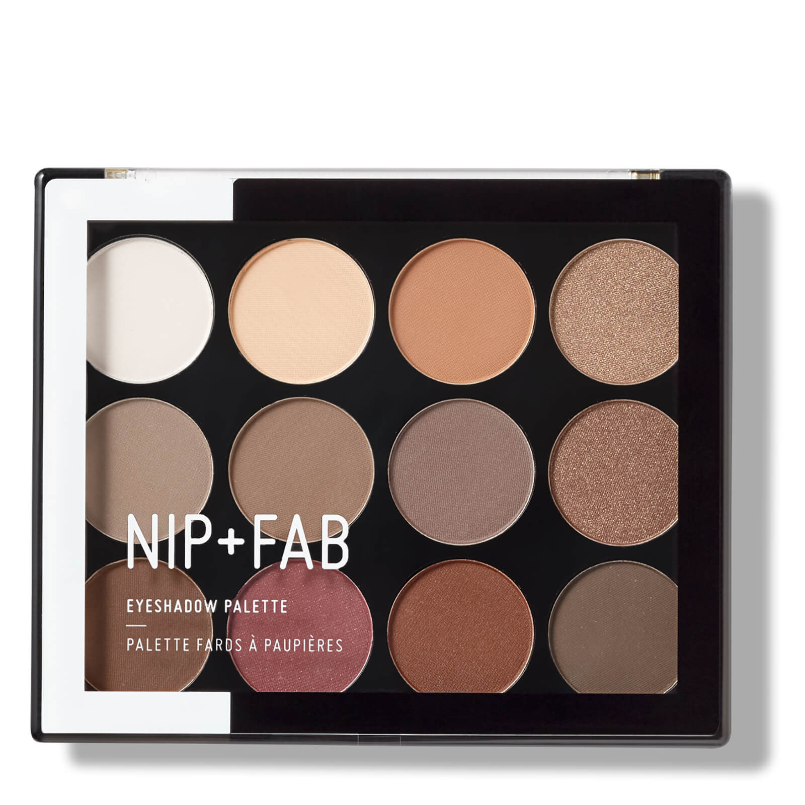 NIP+FAB Make Up Eyeshadow Palette - Sculpted 12g