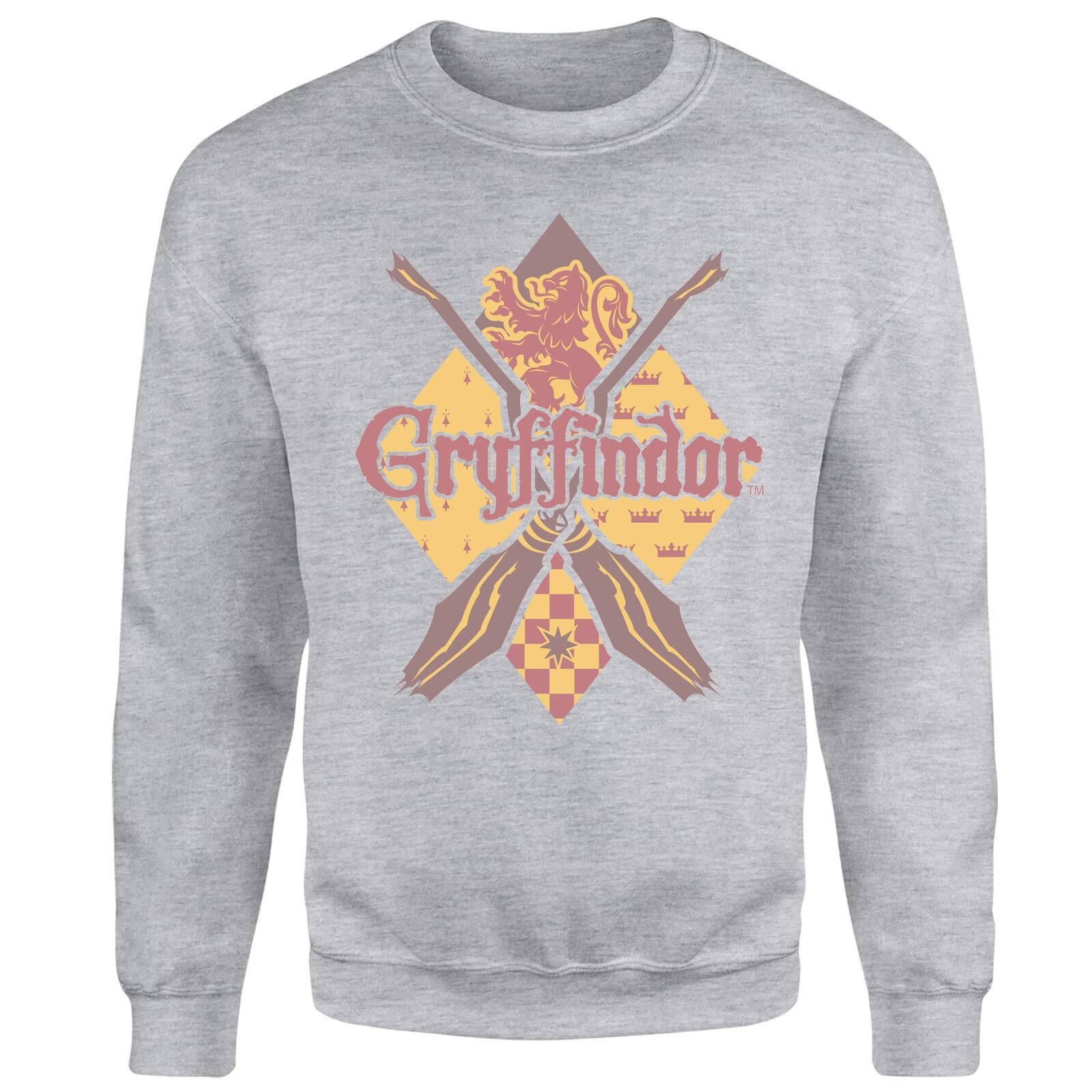 Harry Potter Gryffindor Grey Sweatshirt - S - Grey