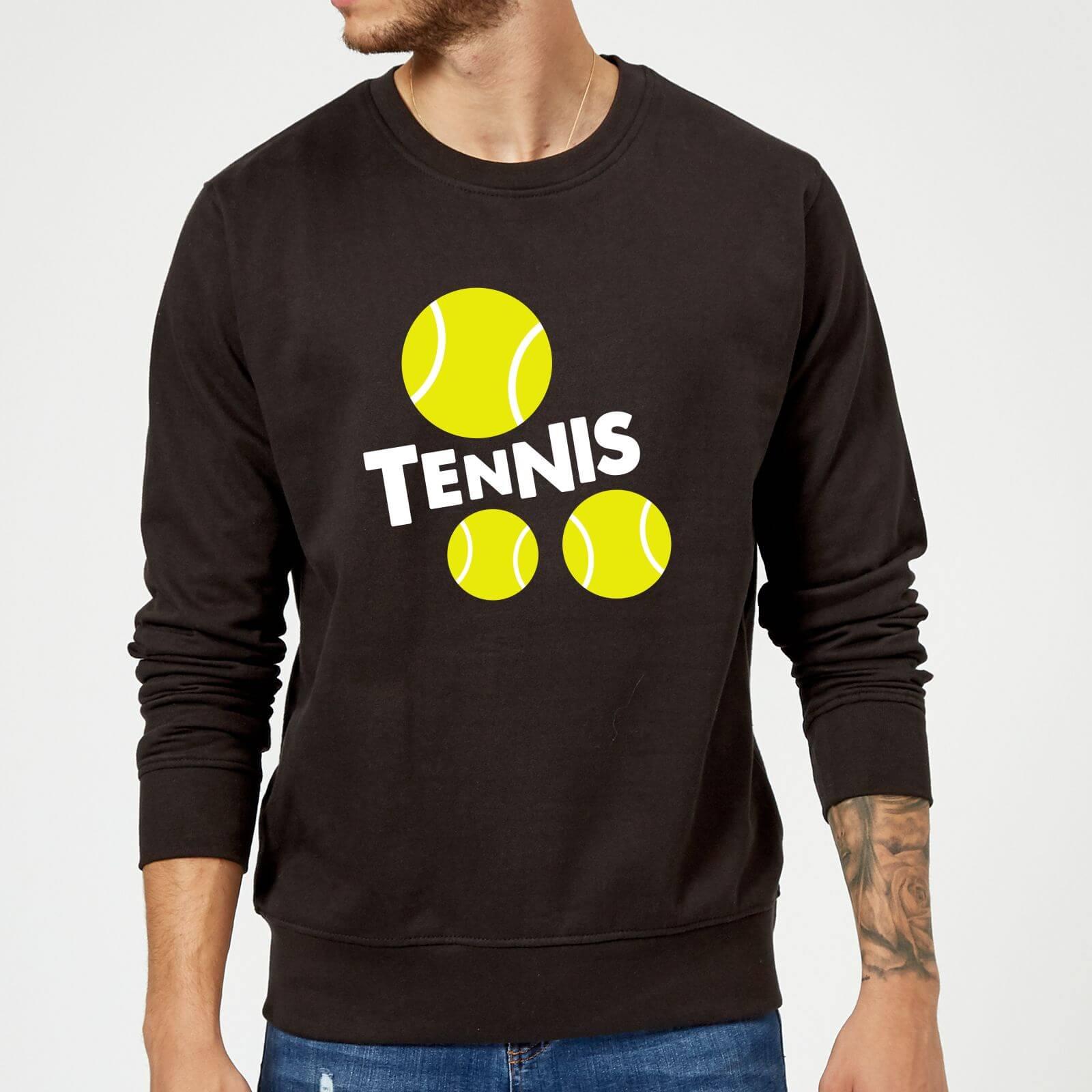 Tennis Balls Sweatshirt - Black - M - Black