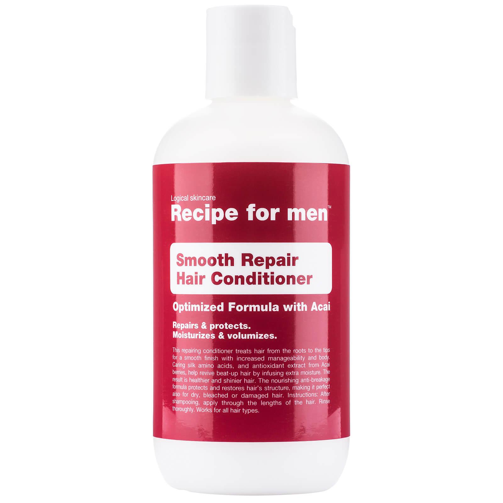 Купить Восстанавливающий кондиционер для гладкости волос, мужская линия Recipe for Men Smooth Repair Conditioner 250мл